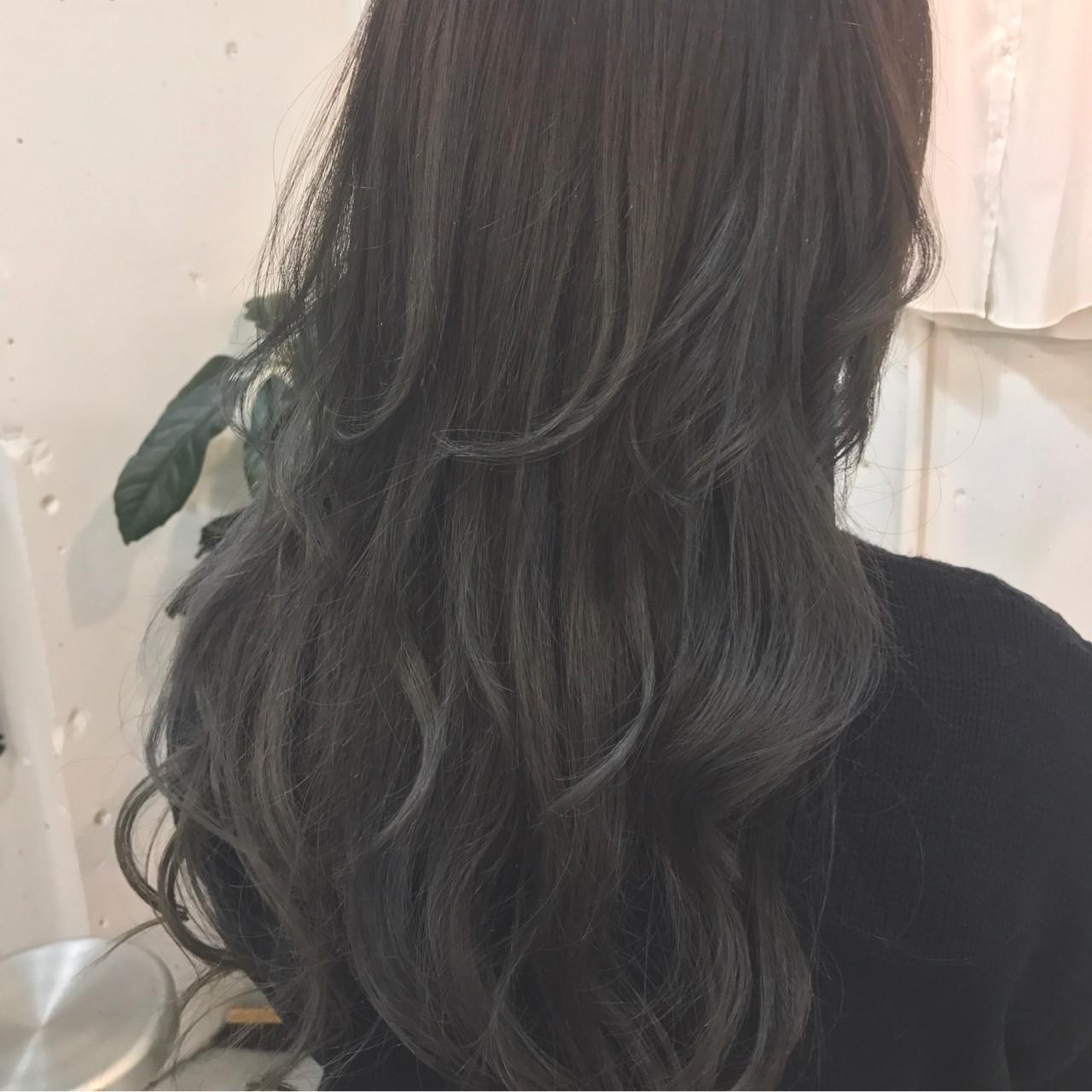 グラデーションカラー ナチュラル 外国人風 ゆるふわ ヘアスタイルや髪型の写真・画像 | sowi 阿部 辰也 / sowi hair design ソーイ