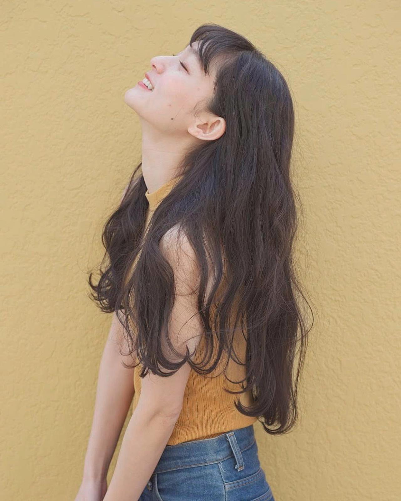 ナチュラル アンニュイほつれヘア 簡単ヘアアレンジ 大人ロング ヘアスタイルや髪型の写真・画像 | 佐脇 正徳 / LOAVE AOYAMA(ローヴ アオヤマ)