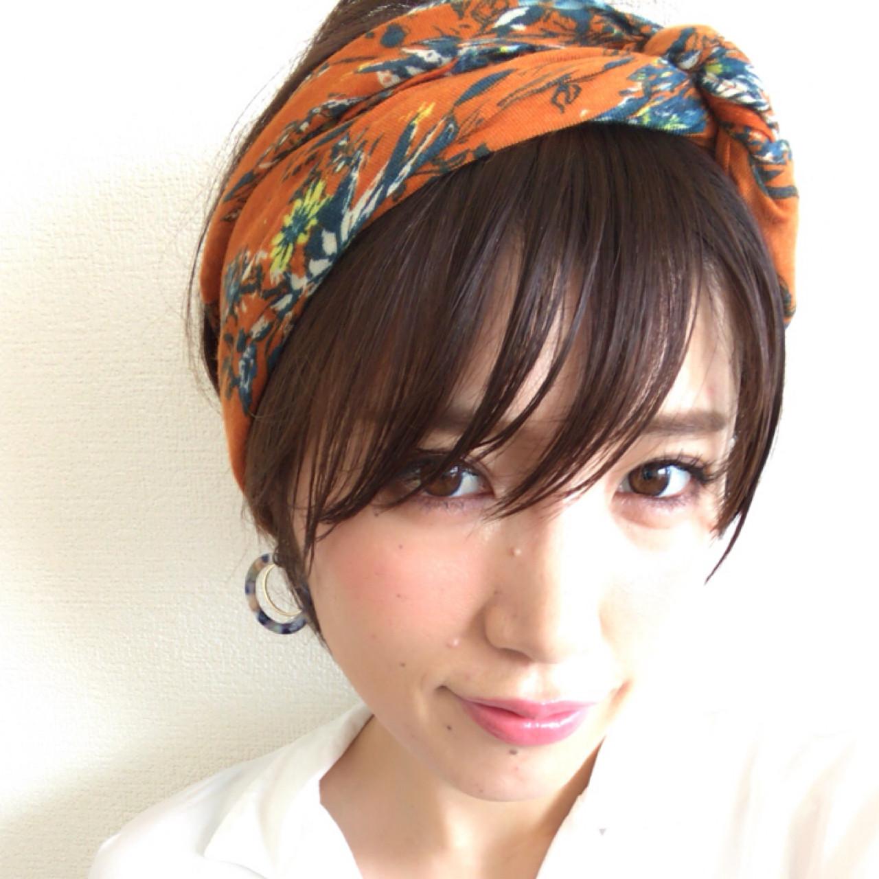 似合わせ こなれ感 大人女子 小顔 ヘアスタイルや髪型の写真・画像 | yuunn /