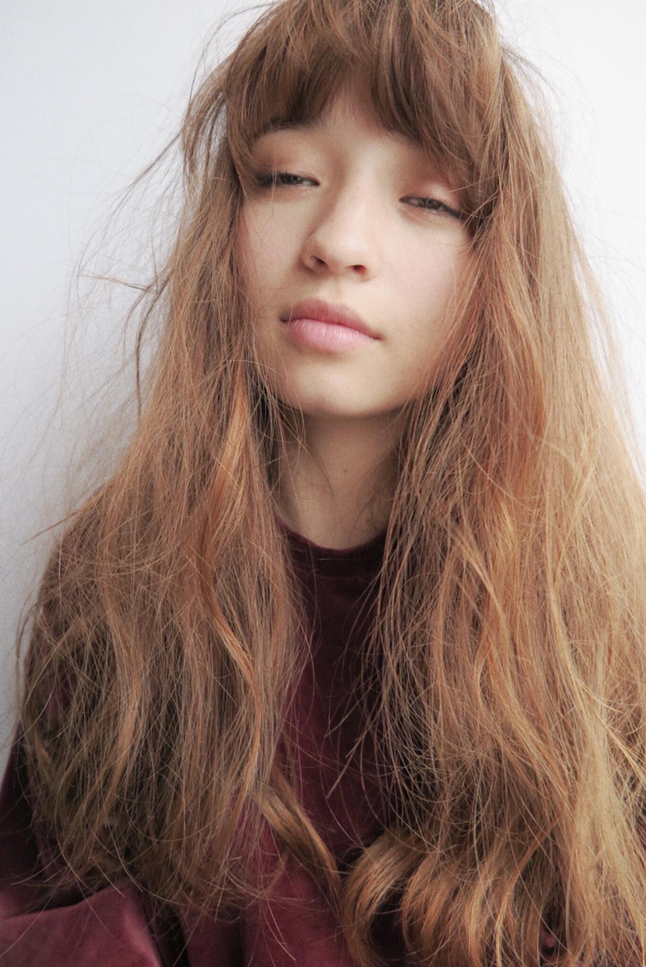 ガーリー ロング パーマ 大人女子 ヘアスタイルや髪型の写真・画像