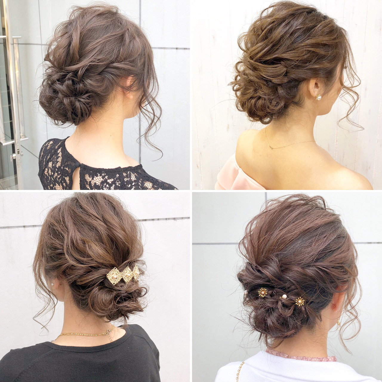 ナチュラル 結婚式 成人式 ロング ヘアスタイルや髪型の写真・画像 | 『ボブ美容師』永田邦彦 表参道 / send by HAIR