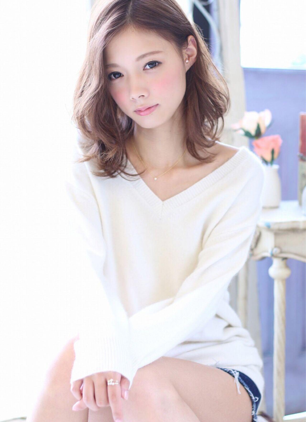 モテ髪 フェミニン 愛され 大人かわいい ヘアスタイルや髪型の写真・画像