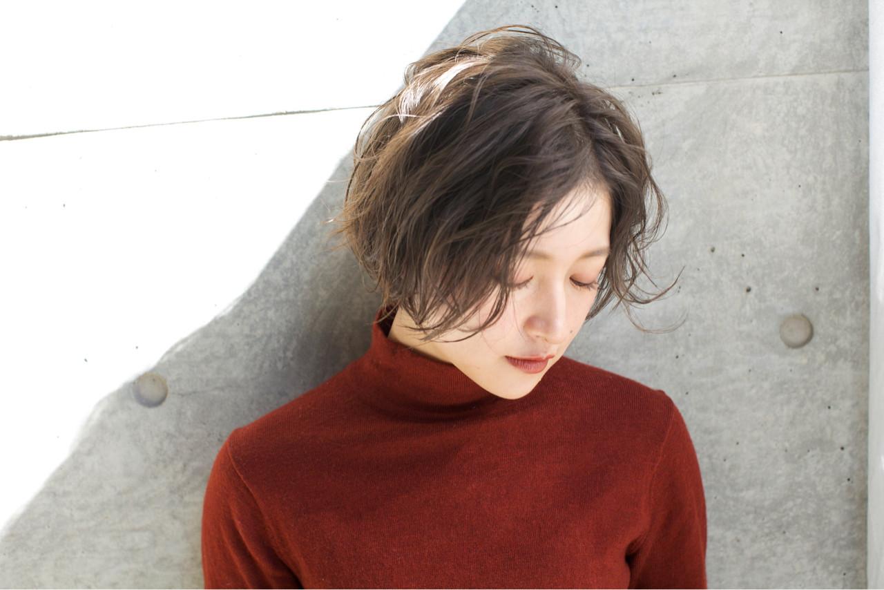 外国人風カラー ストリート 外国人風 冬 ヘアスタイルや髪型の写真・画像