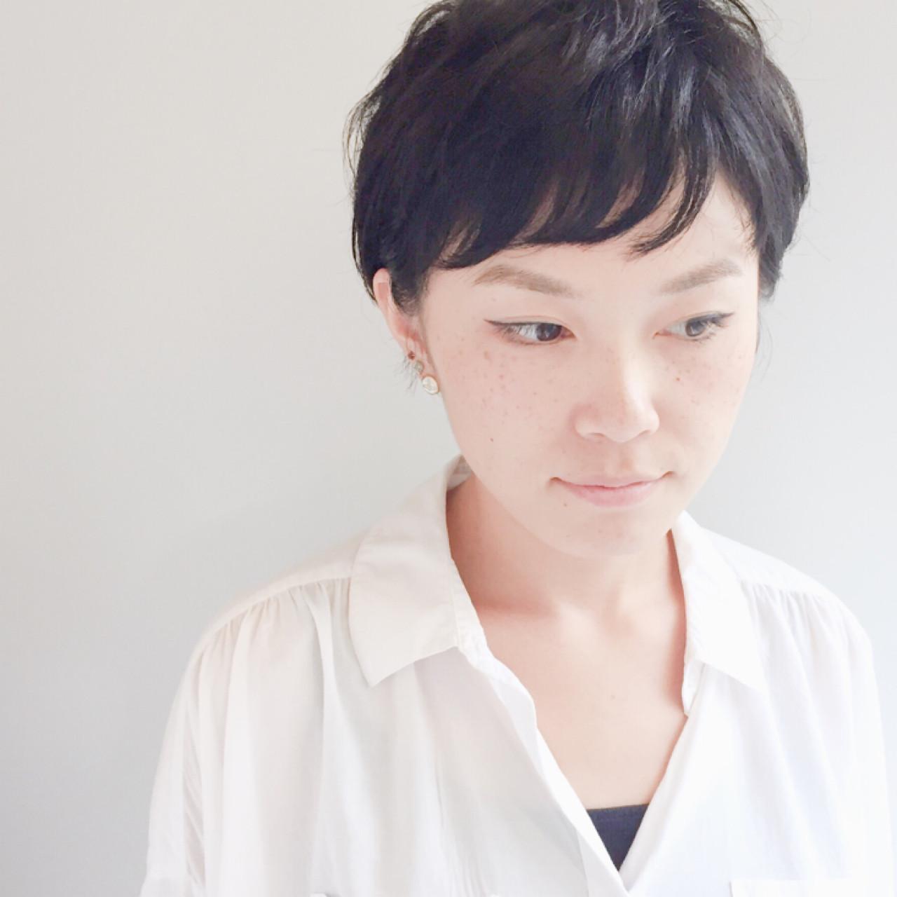 こなれ感 似合わせ 小顔 黒髪 ヘアスタイルや髪型の写真・画像 | 横田 絵美/MOK/神戸元町 / MOK 神戸元町店