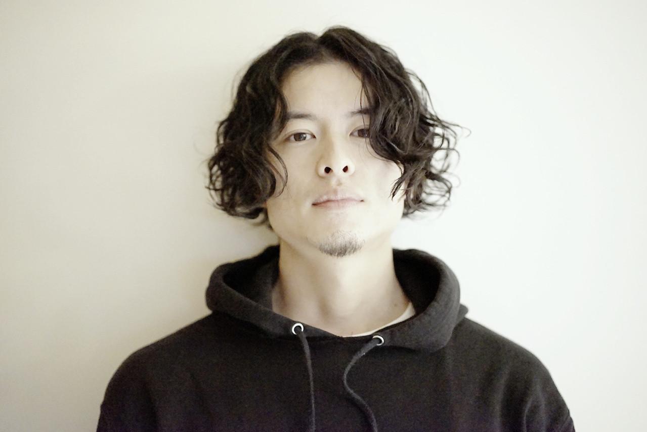 パーマ ショート メンズ スパイラルパーマ ヘアスタイルや髪型の写真・画像 | Tadao Shimodaira/FLOW / FLOW aoyama