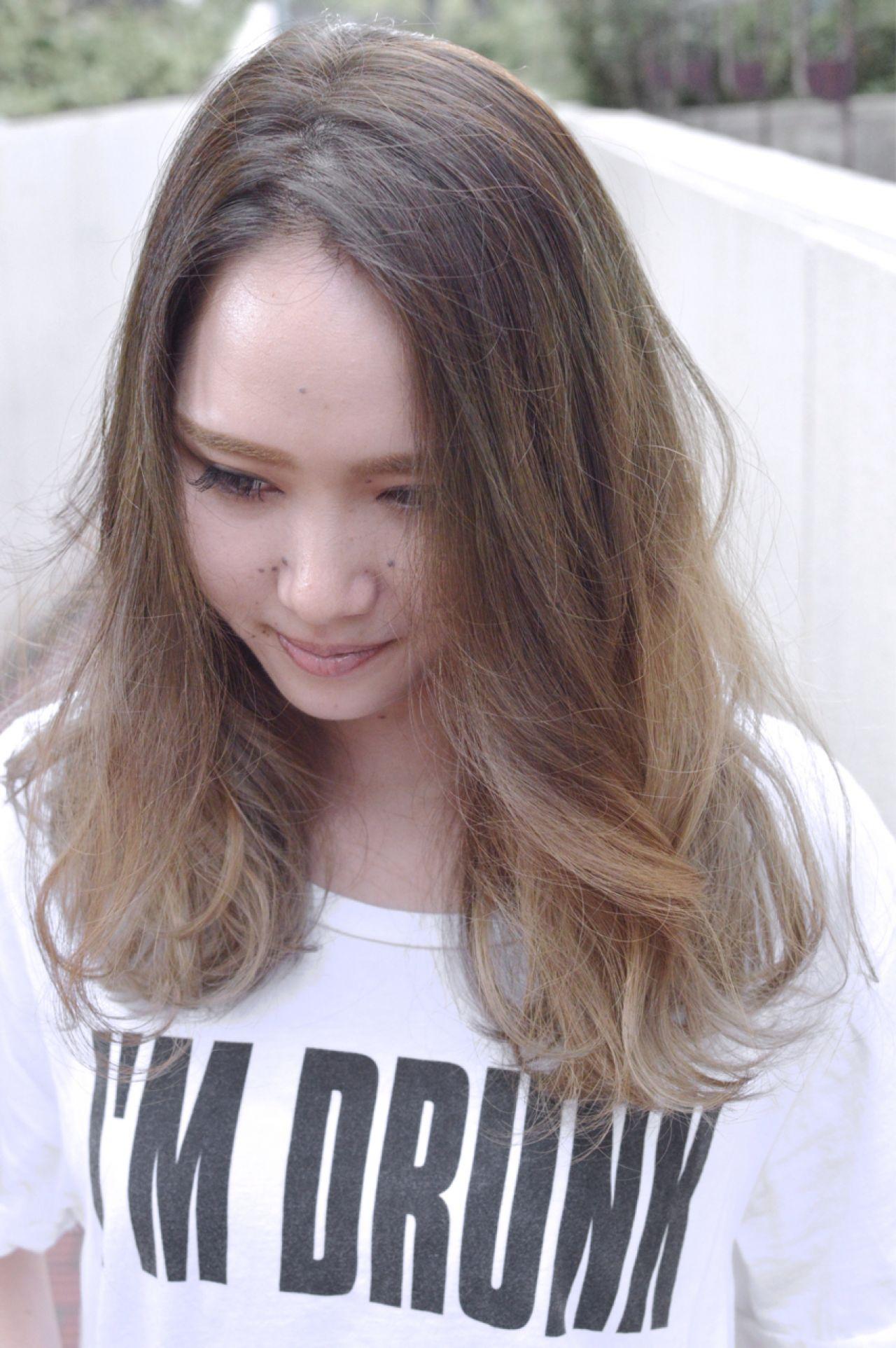 モテ髪 コンサバ ウェーブ 愛され ヘアスタイルや髪型の写真・画像   NORI / LAFUI hair desain