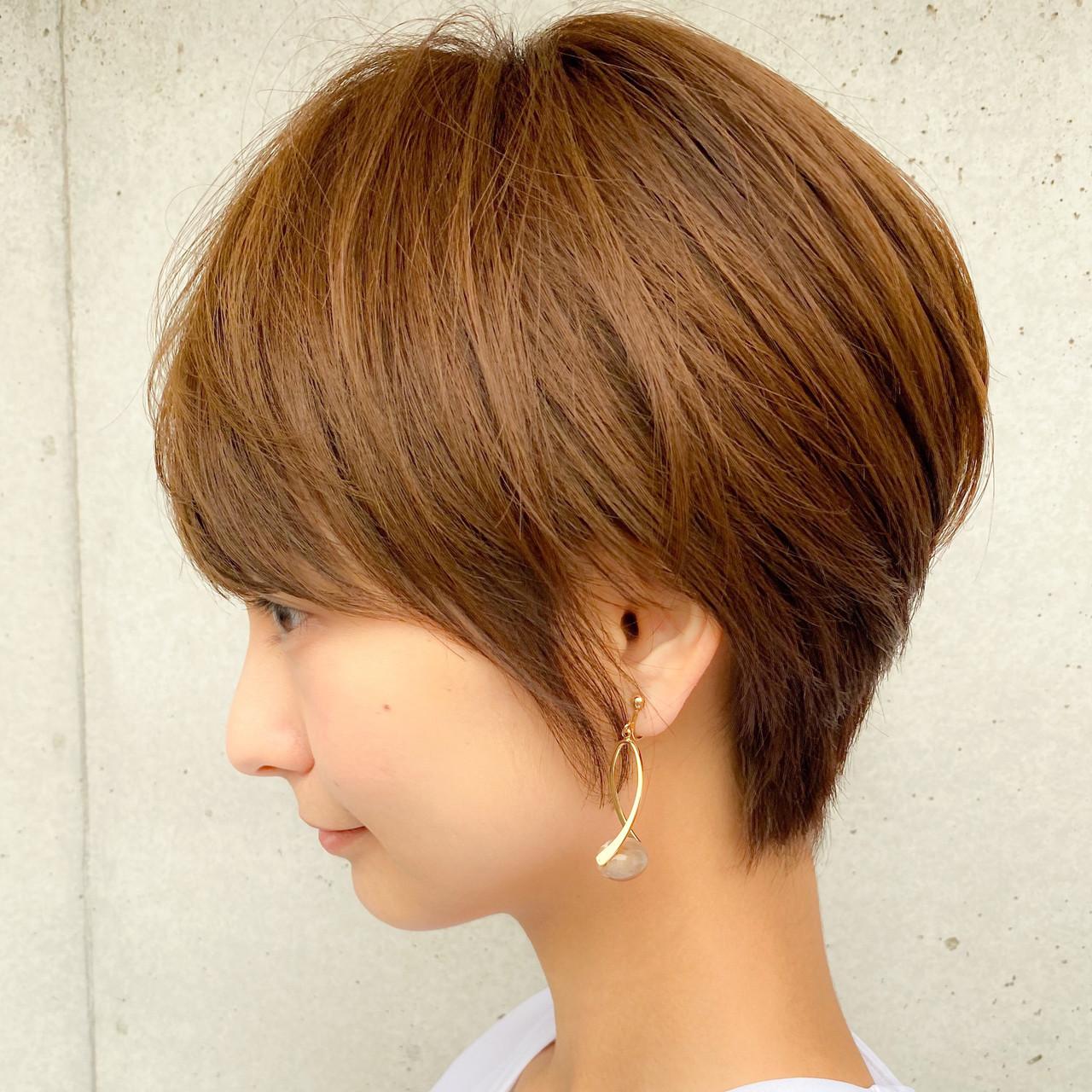 ショートボブ 大人可愛い ボブ 簡単ヘアアレンジ ヘアスタイルや髪型の写真・画像 | 櫻木裕紀 / Agnos青山