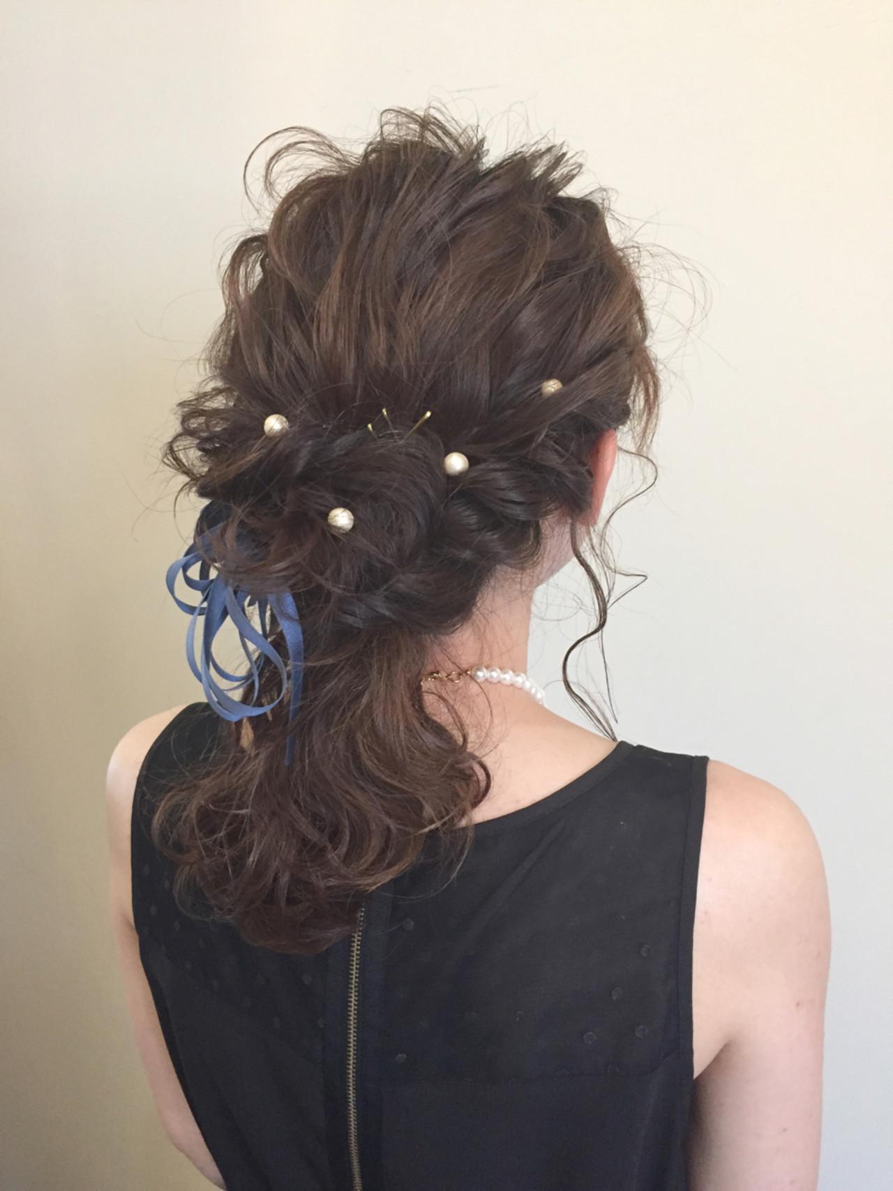 ゆるふわ 大人かわいい ショート 簡単ヘアアレンジ ヘアスタイルや髪型の写真・画像 | 荒井 麻矢 / spec holder