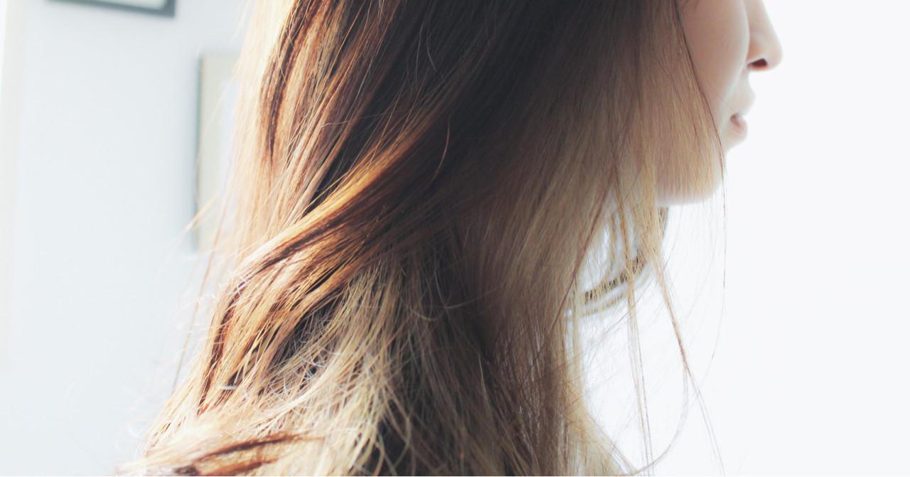 透明感 ナチュラル ロング 外国人風 ヘアスタイルや髪型の写真・画像 | creap / creap
