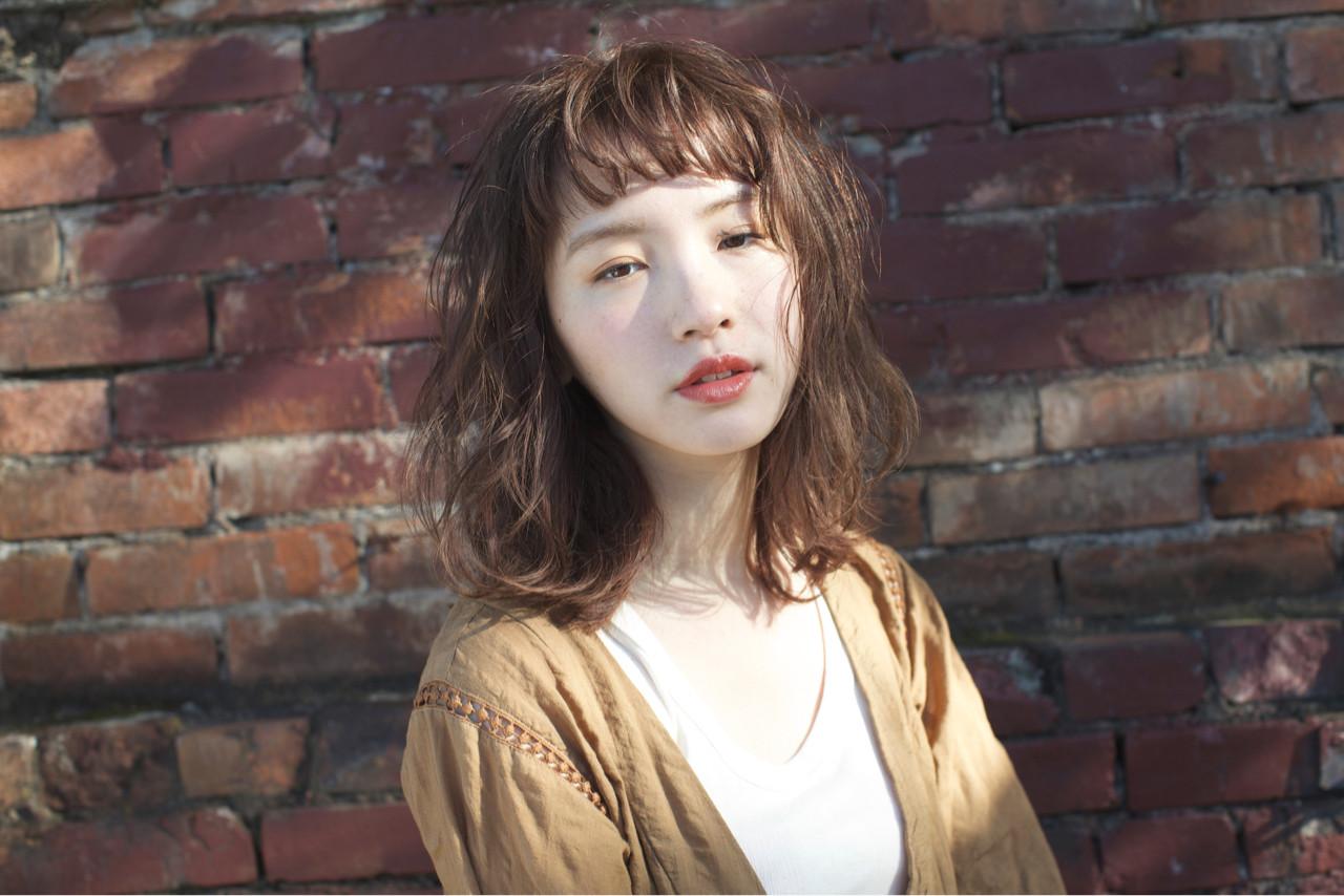 ナチュラル 大人かわいい ゆるふわ 外国人風 ヘアスタイルや髪型の写真・画像 | 佐脇 正徳 / LOAVE AOYAMA(ローヴ アオヤマ)