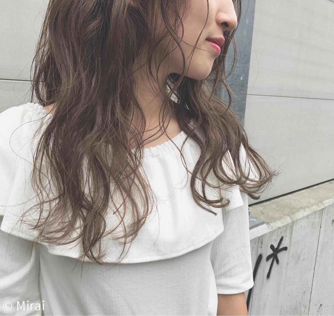 ヘアアレンジ 色気 透明感 アンニュイ ヘアスタイルや髪型の写真・画像   Mirai / enntaku