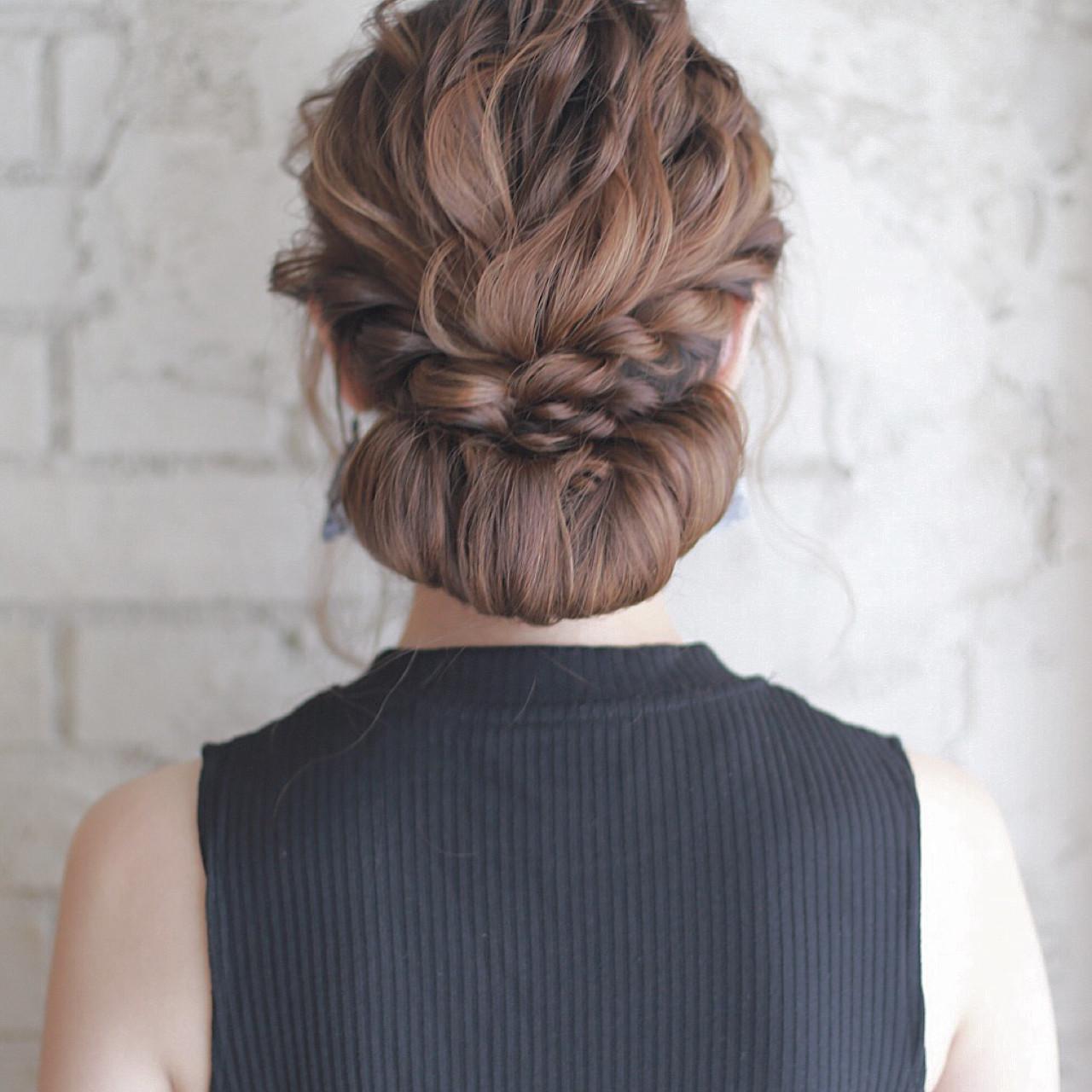 大人かわいい セミロング ゆるふわ 結婚式 ヘアスタイルや髪型の写真・画像 | 廣田哲也 / nalu hair