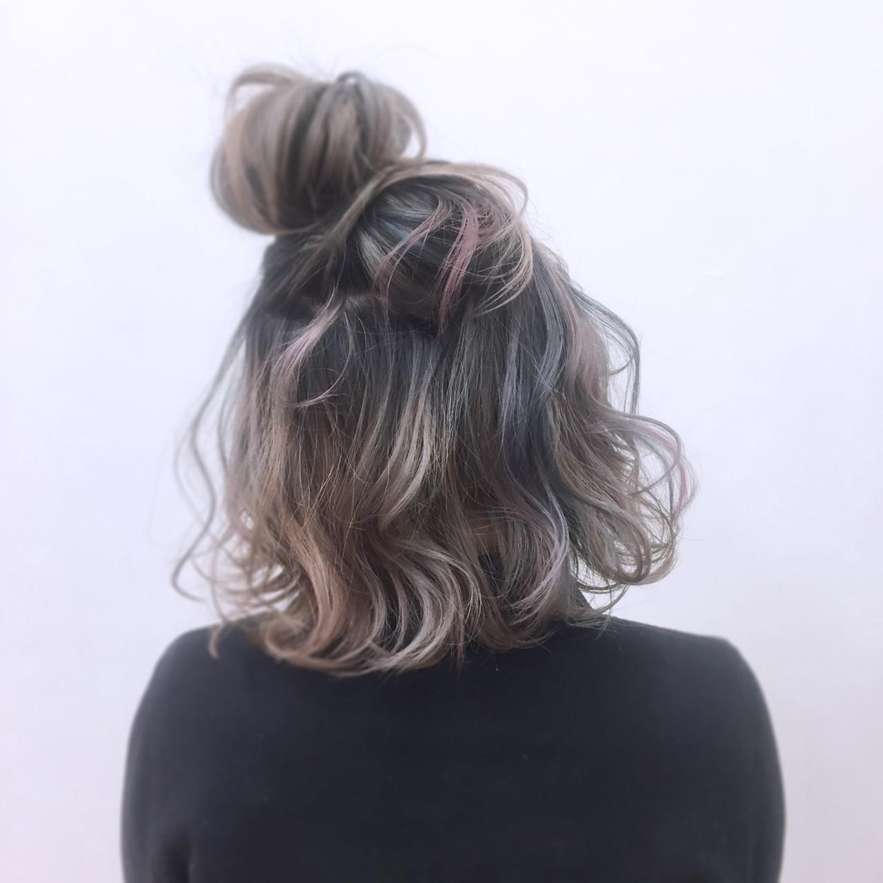 ガーリー ニュアンス 簡単ヘアアレンジ 外国人風 ヘアスタイルや髪型の写真・画像