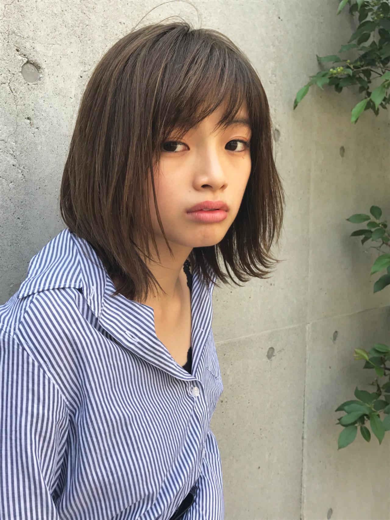 おさらい!斜めバングHow To♡前髪だけで小顔に見えちゃう方法とは 北田 ゆうすけ