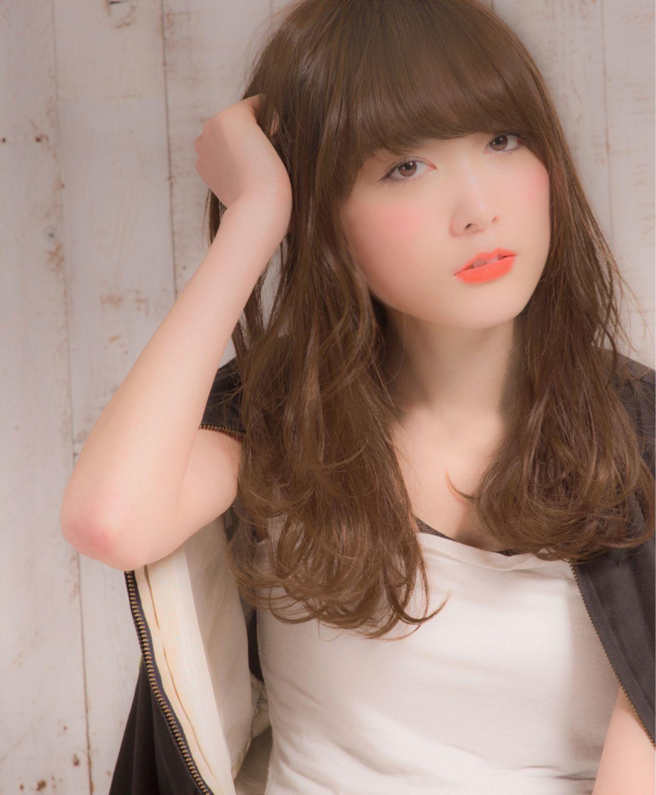 ストリート ウェットヘア ウェーブ セミロング ヘアスタイルや髪型の写真・画像   佐藤 雄太 / COIFF1rst harajuku