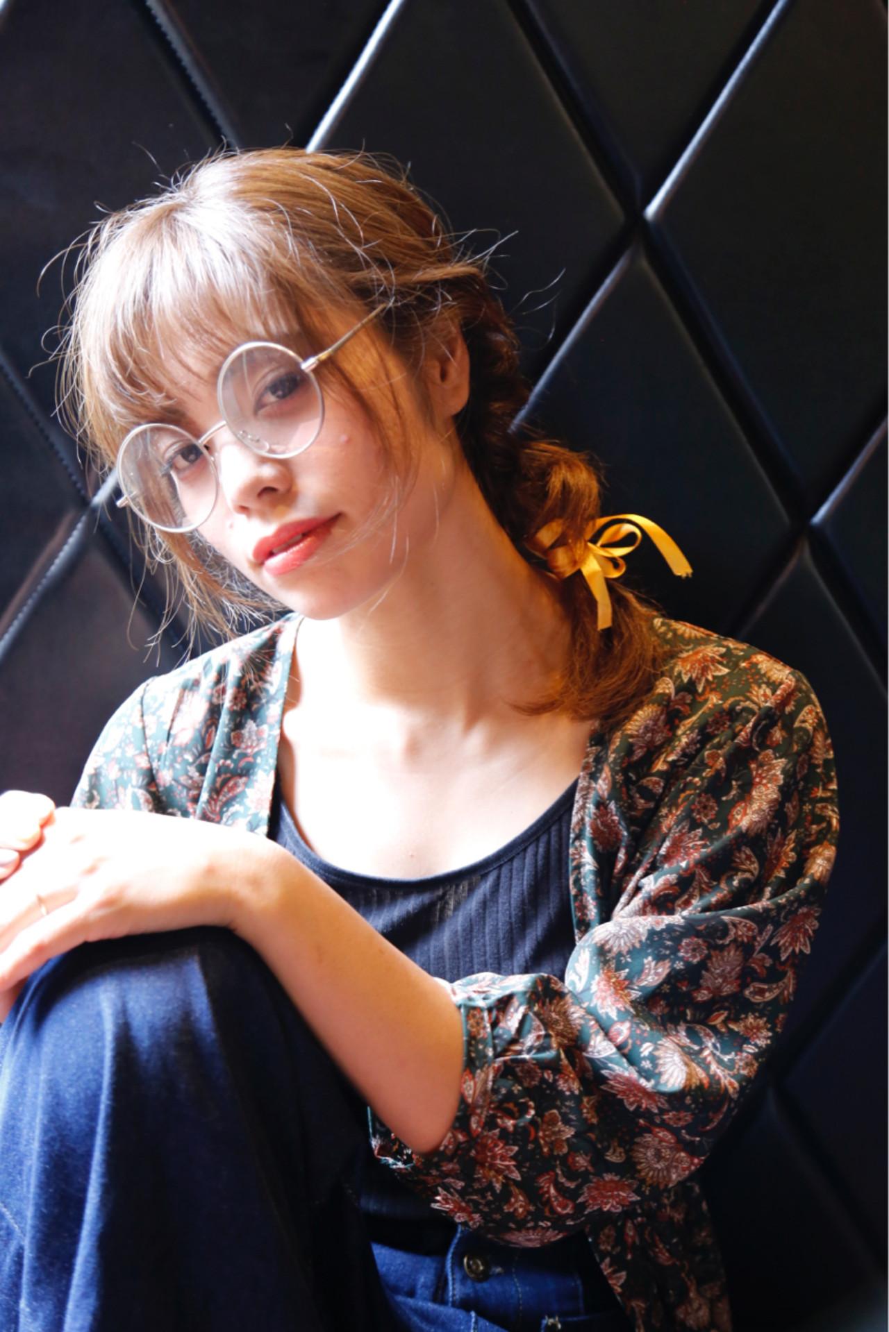 ヘアアレンジ 抜け感 秋 透明感 ヘアスタイルや髪型の写真・画像 | 中村 猛 / MODE K's 塚本店 (モードケイズ)