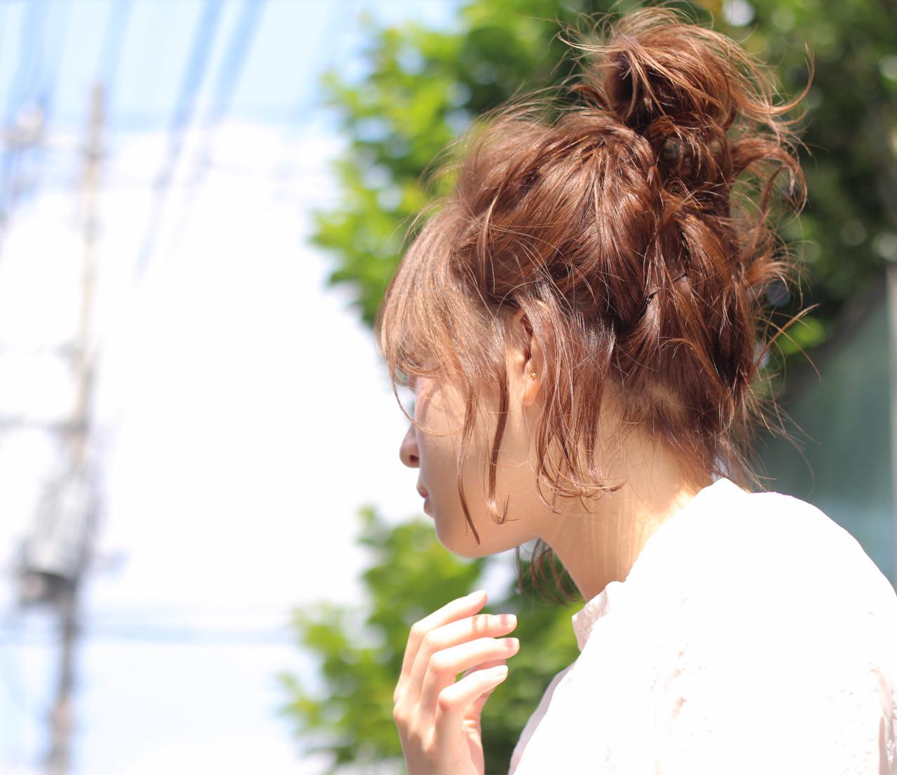 ヘアアレンジ 雨の日 デート ショート ヘアスタイルや髪型の写真・画像 | Wataru Maeda / cache cache