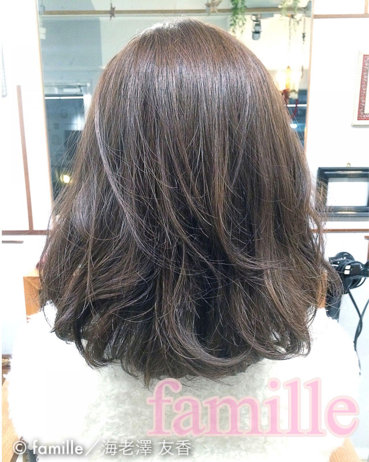 かわいい ボブ 大人かわいい 外国人風カラー ヘアスタイルや髪型の写真・画像 | famille/海老澤 友香 / famille(ファミーユ)