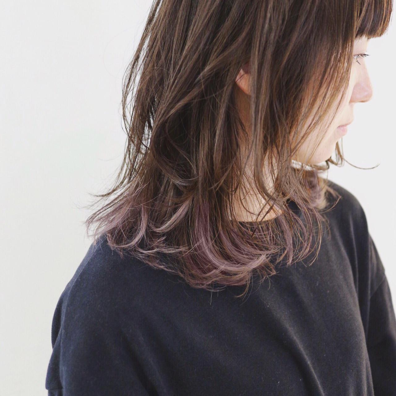 ダークグレー 地毛風カラー グラデーションカラー ストリート ヘアスタイルや髪型の写真・画像