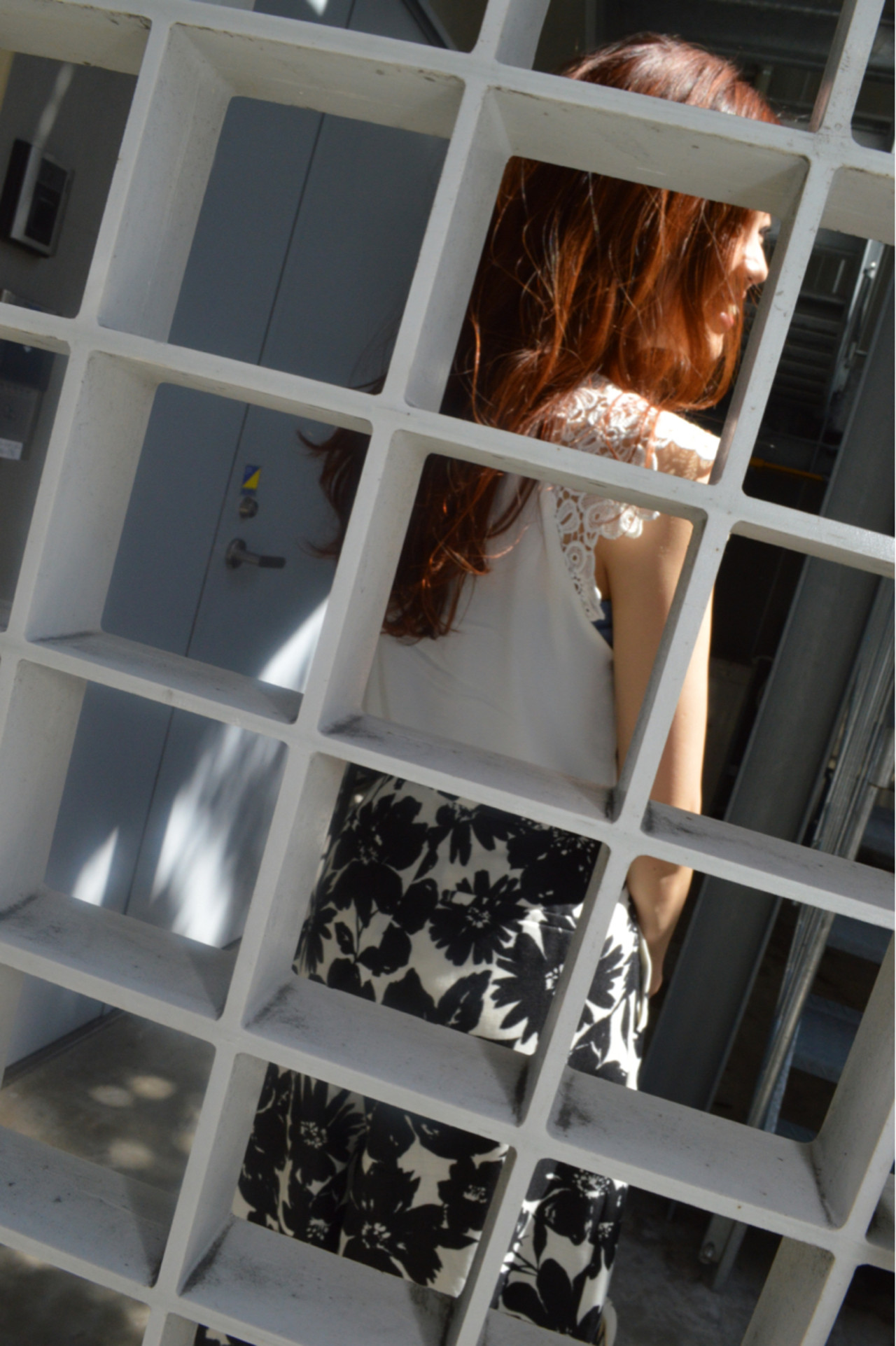OL オフィス ロング オレンジ ヘアスタイルや髪型の写真・画像   カラーリスト・YuuKi Sekimoto / wherever