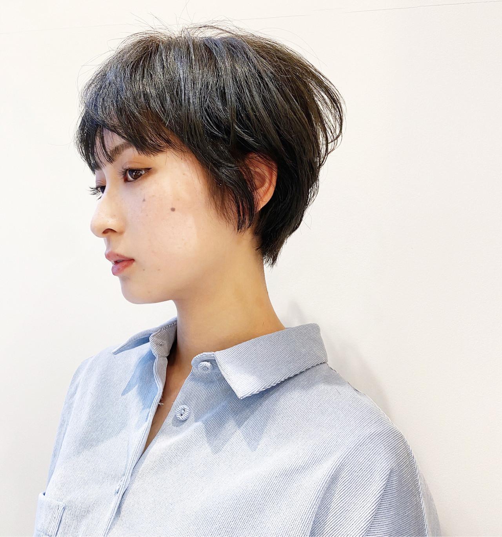 ショート ショートヘア ベリーショート マッシュショート ヘアスタイルや髪型の写真・画像