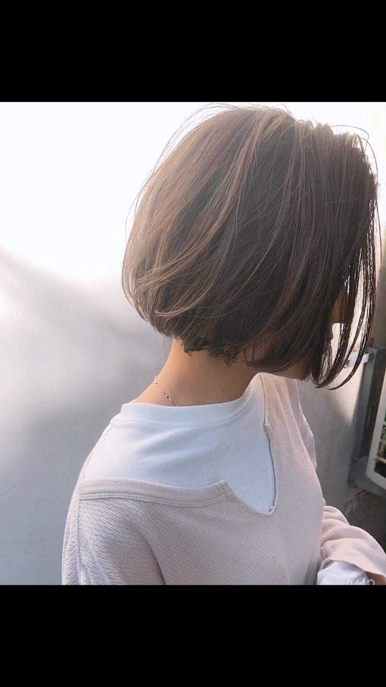ボブ ミニボブ 外国人風カラー ショートボブ ヘアスタイルや髪型の写真・画像 | 高沼 達也 / byトルネード / トルネード