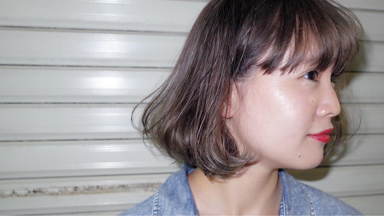 ブリーチ ストリート イルミナカラー 外国人風 ヘアスタイルや髪型の写真・画像