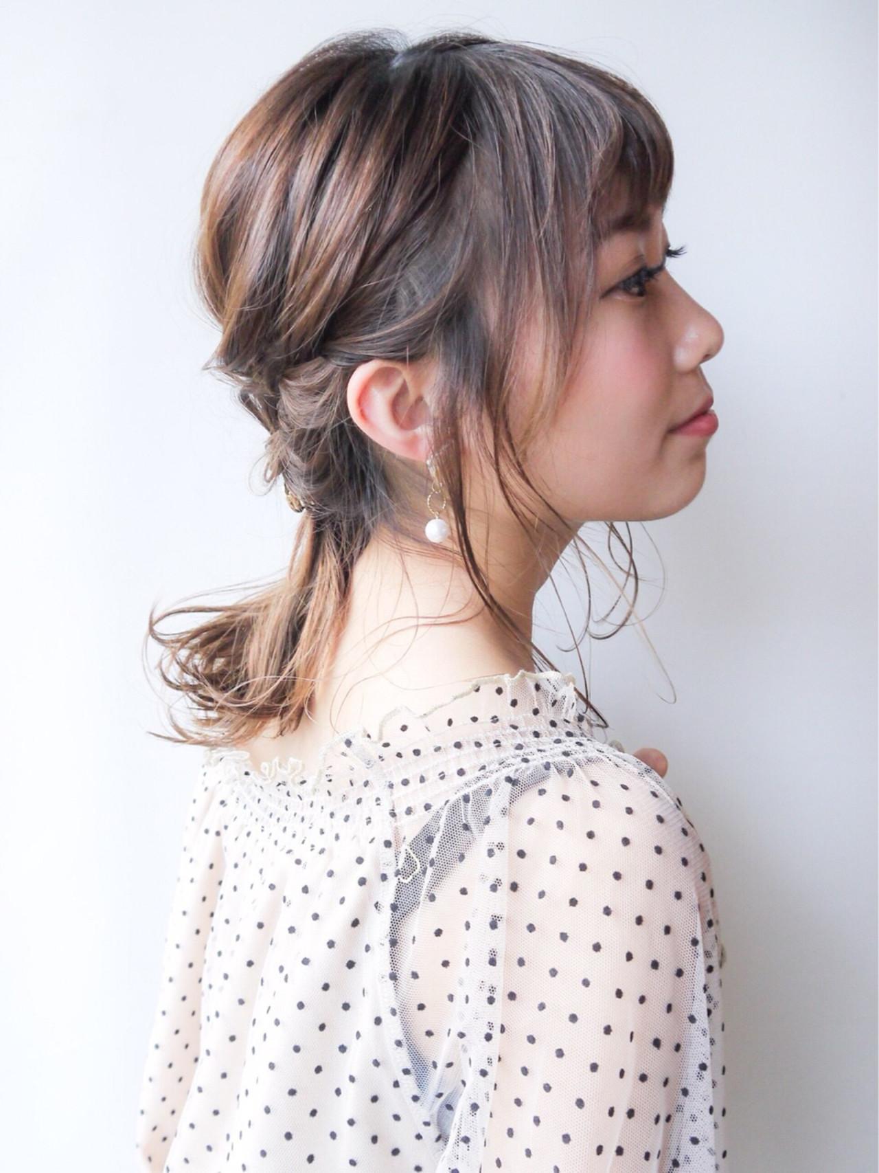 大人かわいい 夏 コンサバ 涼しげ ヘアスタイルや髪型の写真・画像