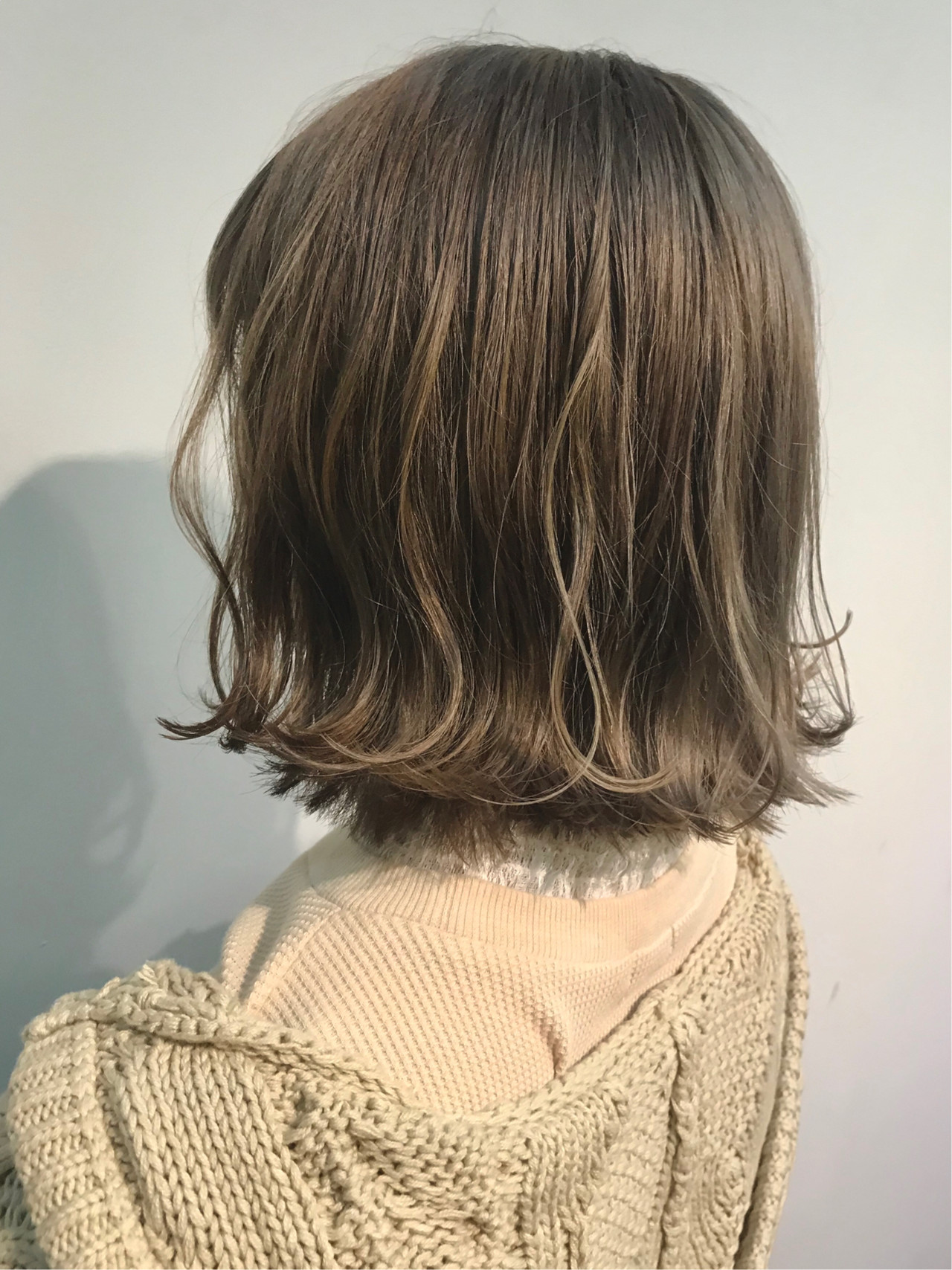 ストリート ハイライト ミニボブ ボブ ヘアスタイルや髪型の写真・画像