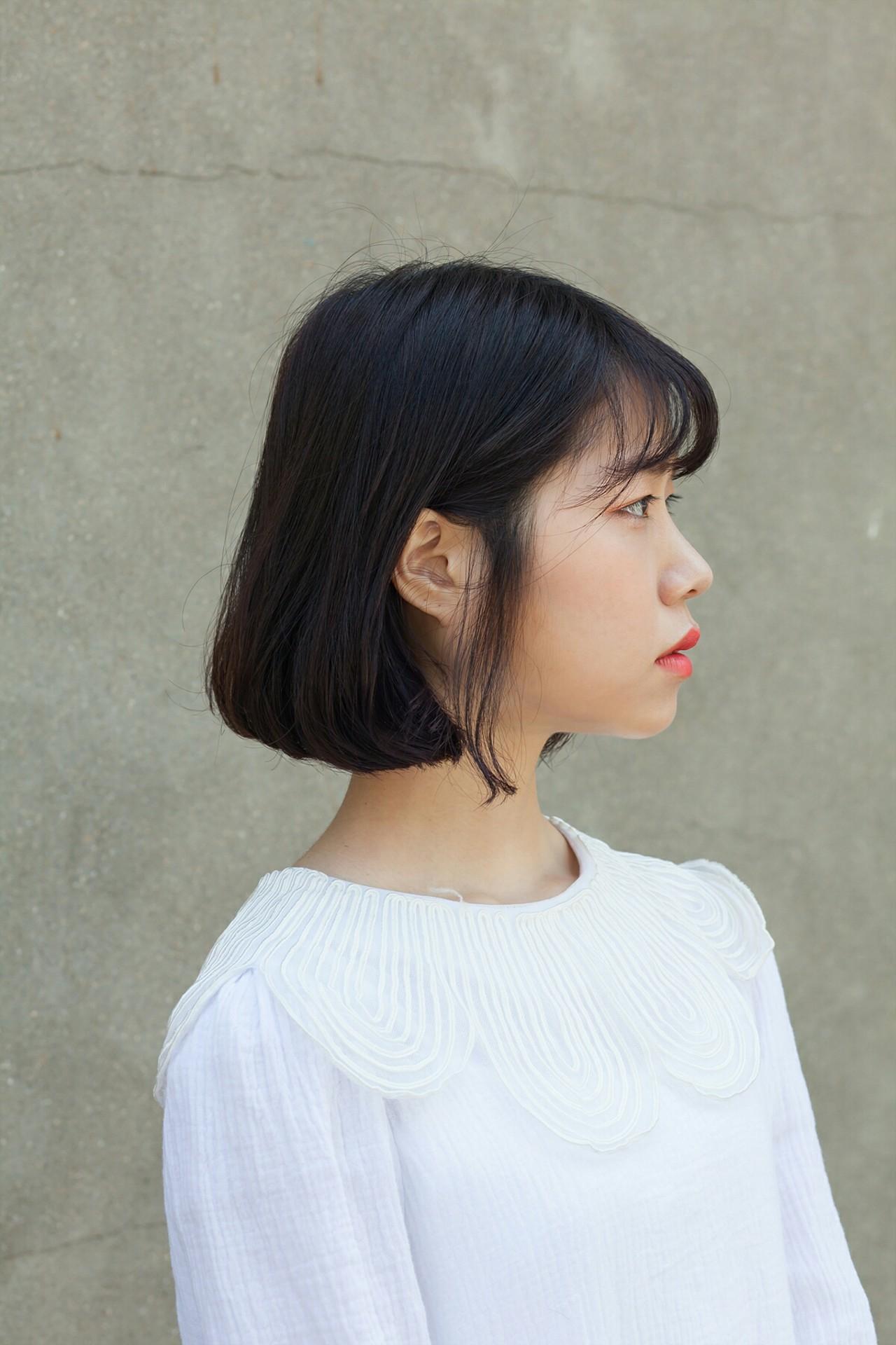 デジタルパーマ ガーリー ボブ パーマ Tanpopo Hair In 韓国 韓国の