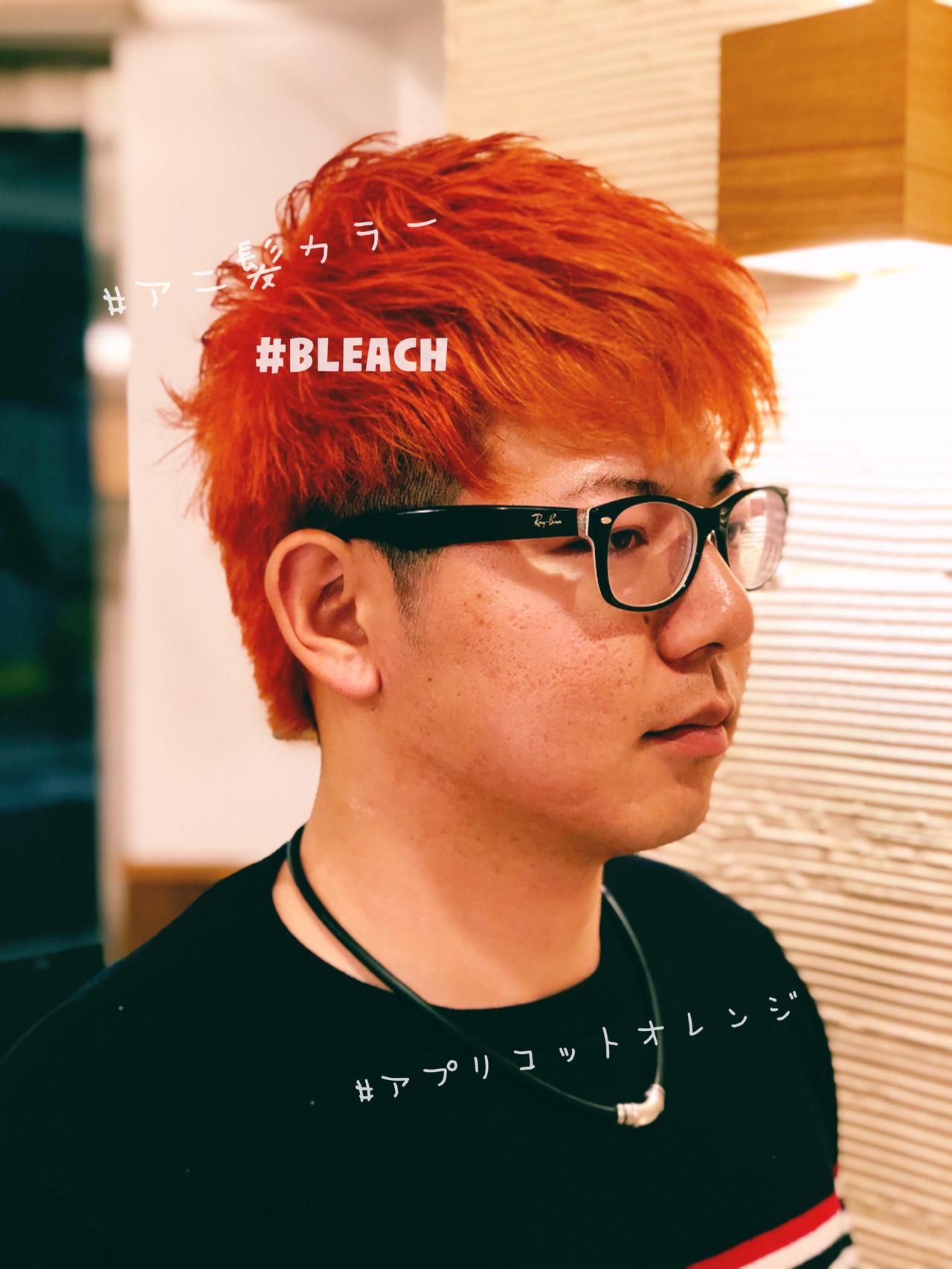 ストリート 韓国 ショート メンズヘア ヘアスタイルや髪型の写真・画像 | ✖︎ リーアキト LEE AKITO ✖︎ / agu hair link