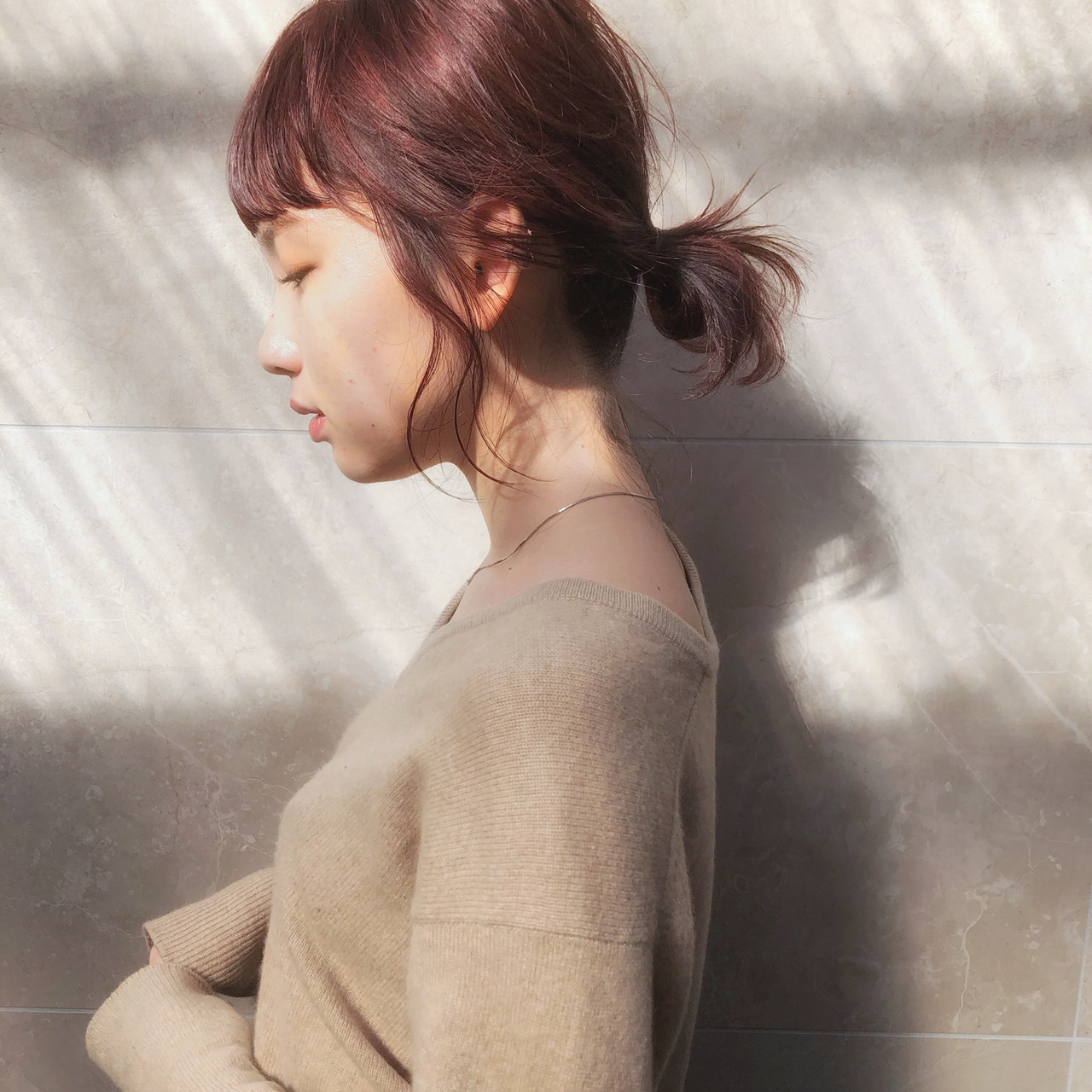 ヘアアレンジ アンニュイほつれヘア ボブ 簡単ヘアアレンジ ヘアスタイルや髪型の写真・画像 | Kengo / amili
