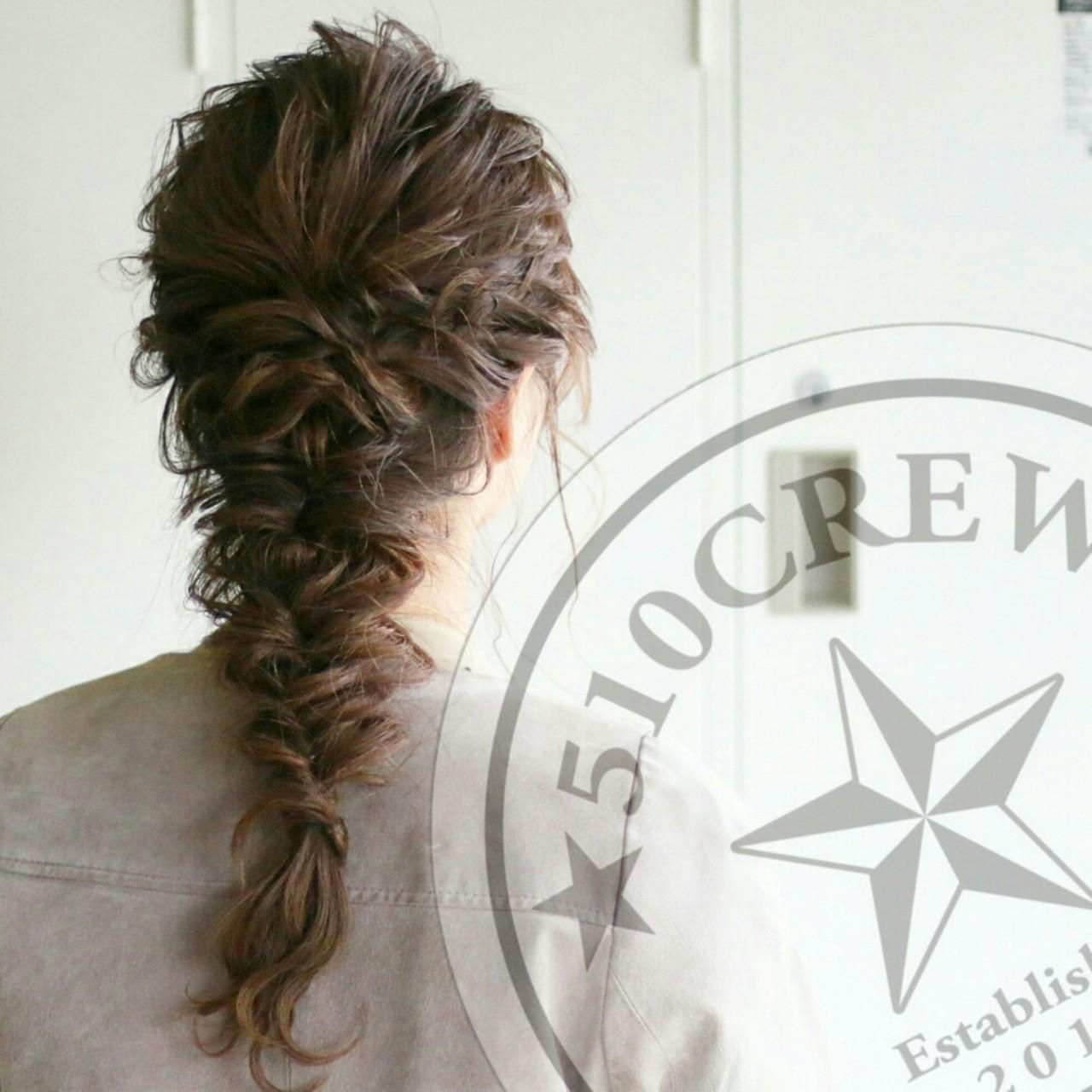 エレガント 上品 外国人風 ゆるふわ ヘアスタイルや髪型の写真・画像 | 五嶋治紀 / BORDER.hair