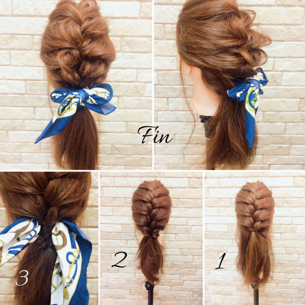 ヘアアレンジ 大人女子 簡単ヘアアレンジ フェミニン ヘアスタイルや髪型の写真・画像