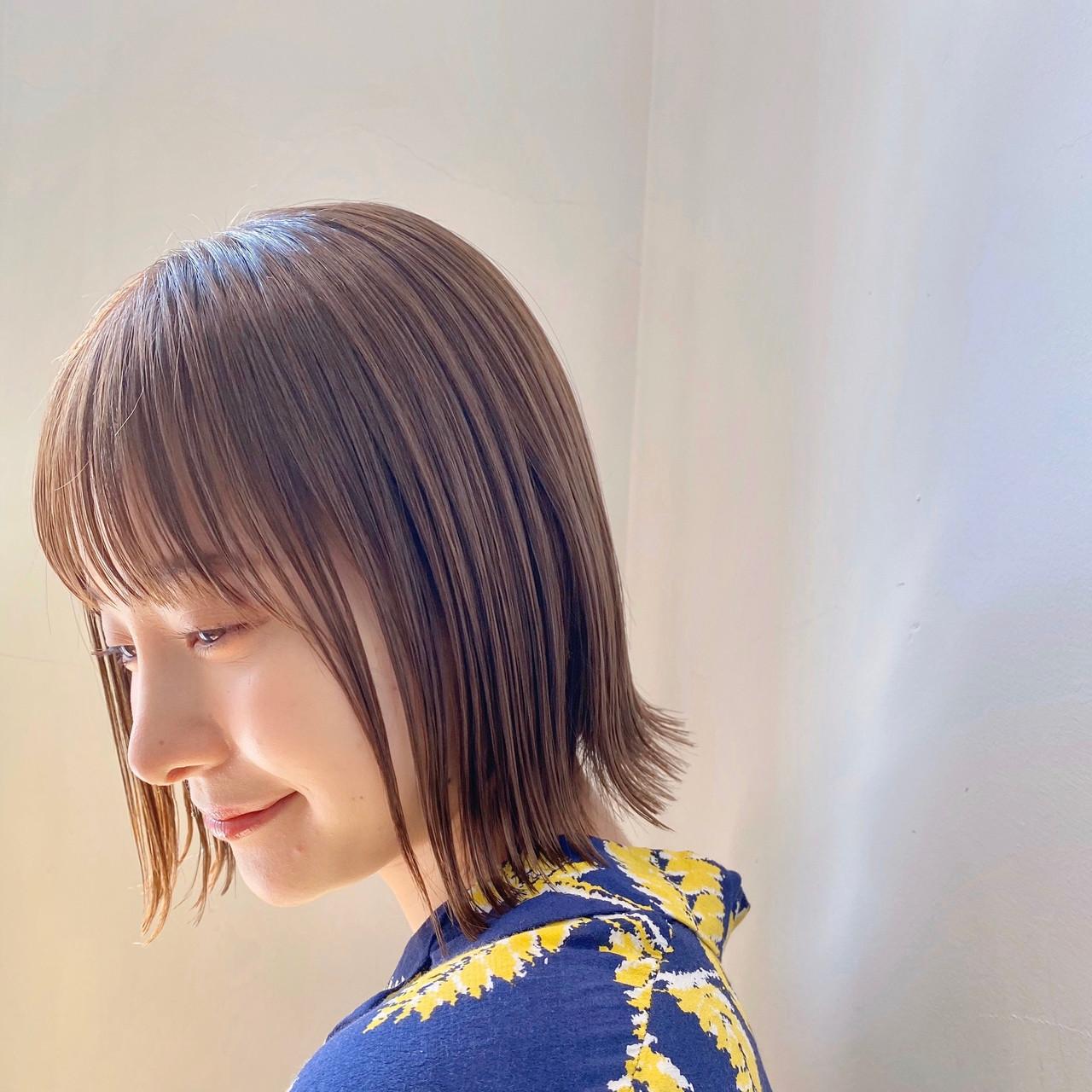 フェミニン ショートヘア ボブ ショートボブ ヘアスタイルや髪型の写真・画像 | ウキタ / GOTODAYSHAiRESALON