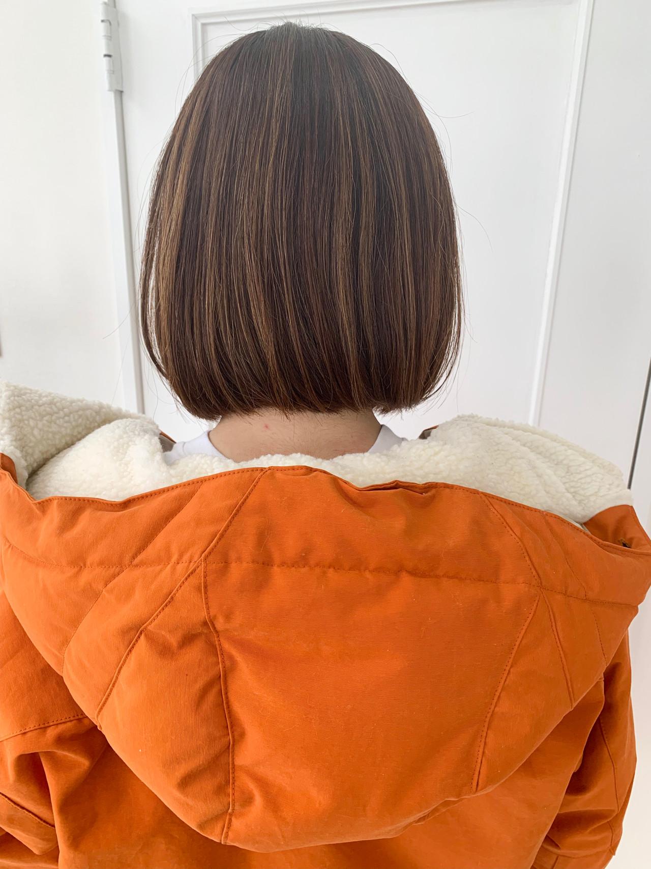 ボブヘアー ナチュラル可愛い 大人女子 ナチュラル ヘアスタイルや髪型の写真・画像 | 鈴木 諒介 / Palm Springs