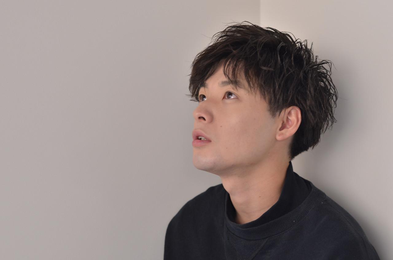 ボーイッシュ メンズ ショート マッシュ ヘアスタイルや髪型の写真・画像   豊田ゆうき / CERISIER7