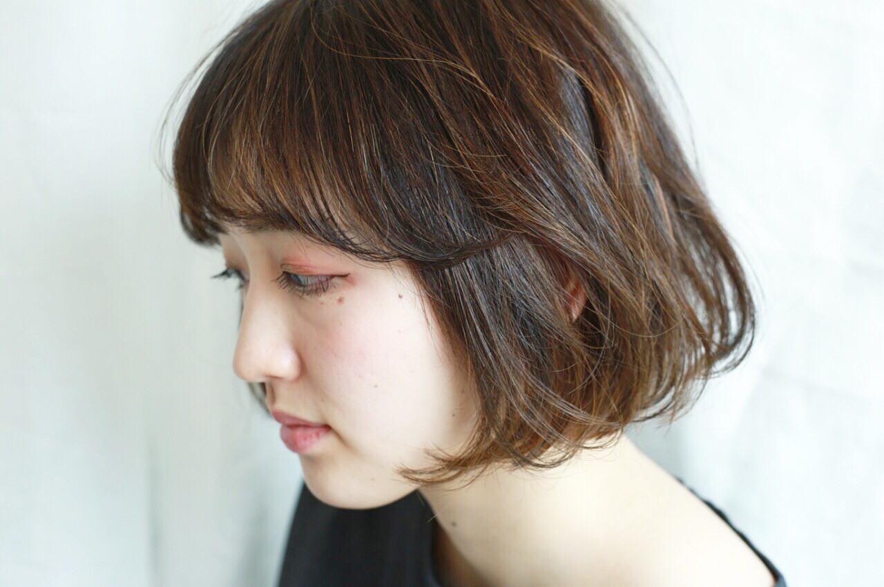 ハイライト 大人かわいい ローライト ナチュラル ヘアスタイルや髪型の写真・画像