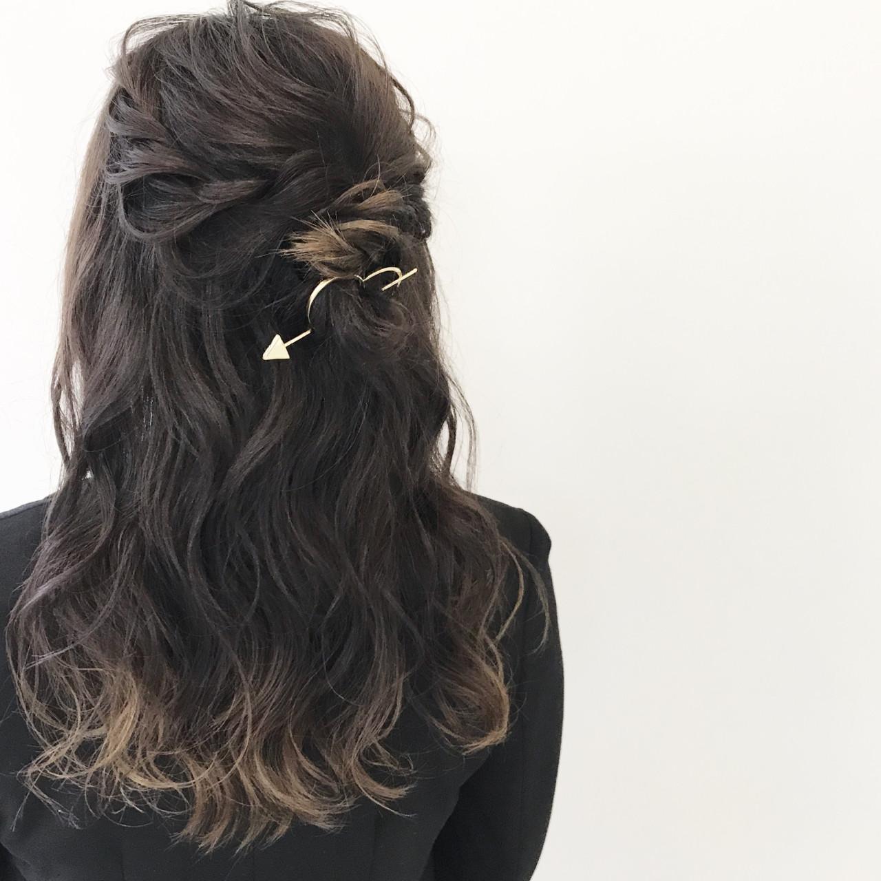 夏 色気 秋 ヘアアレンジ ヘアスタイルや髪型の写真・画像 | 新谷 朋宏 / Free hairstylist shinya