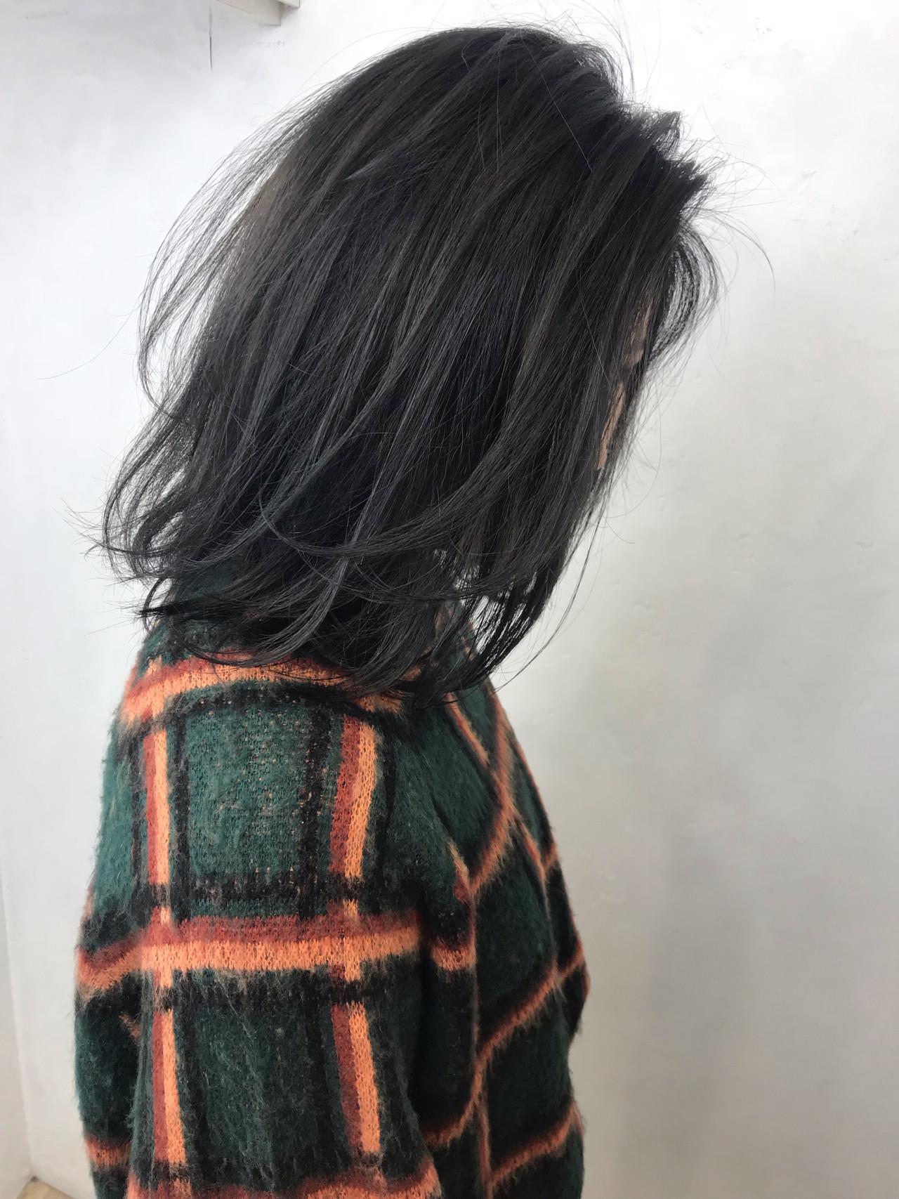 外国人風カラー 冬 アッシュ 秋 ヘアスタイルや髪型の写真・画像 | クロサワ / LUFE byKENJE