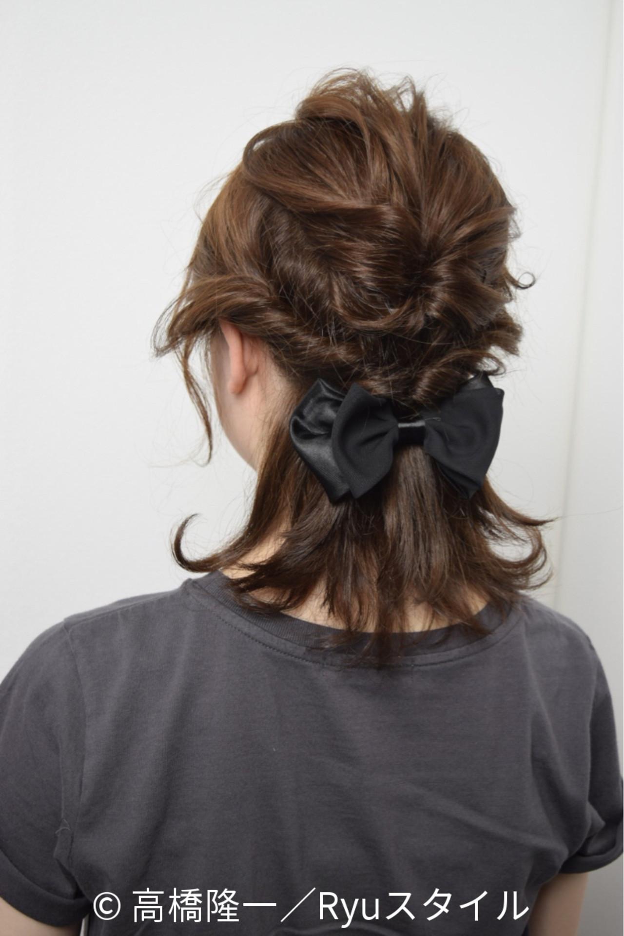 外国人風 ストリート 簡単ヘアアレンジ ブラウン ヘアスタイルや髪型の写真・画像 | 高橋隆一/Ryuスタイル / hair&make  bis       group by ZEST