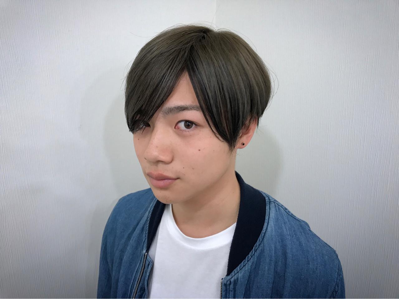 メンズ ツートンカラー 〜モノトーン〜 オシャレでカッコいいカラー