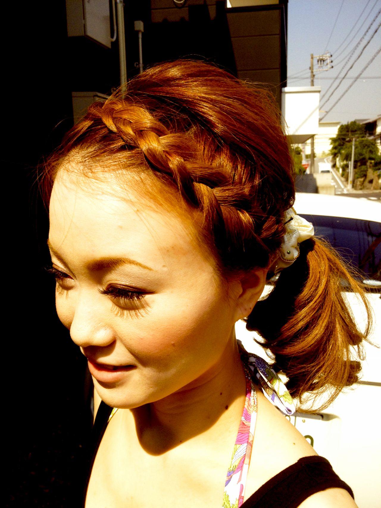 大人かわいい ヘアアレンジ コンサバ モテ髪 ヘアスタイルや髪型の写真・画像