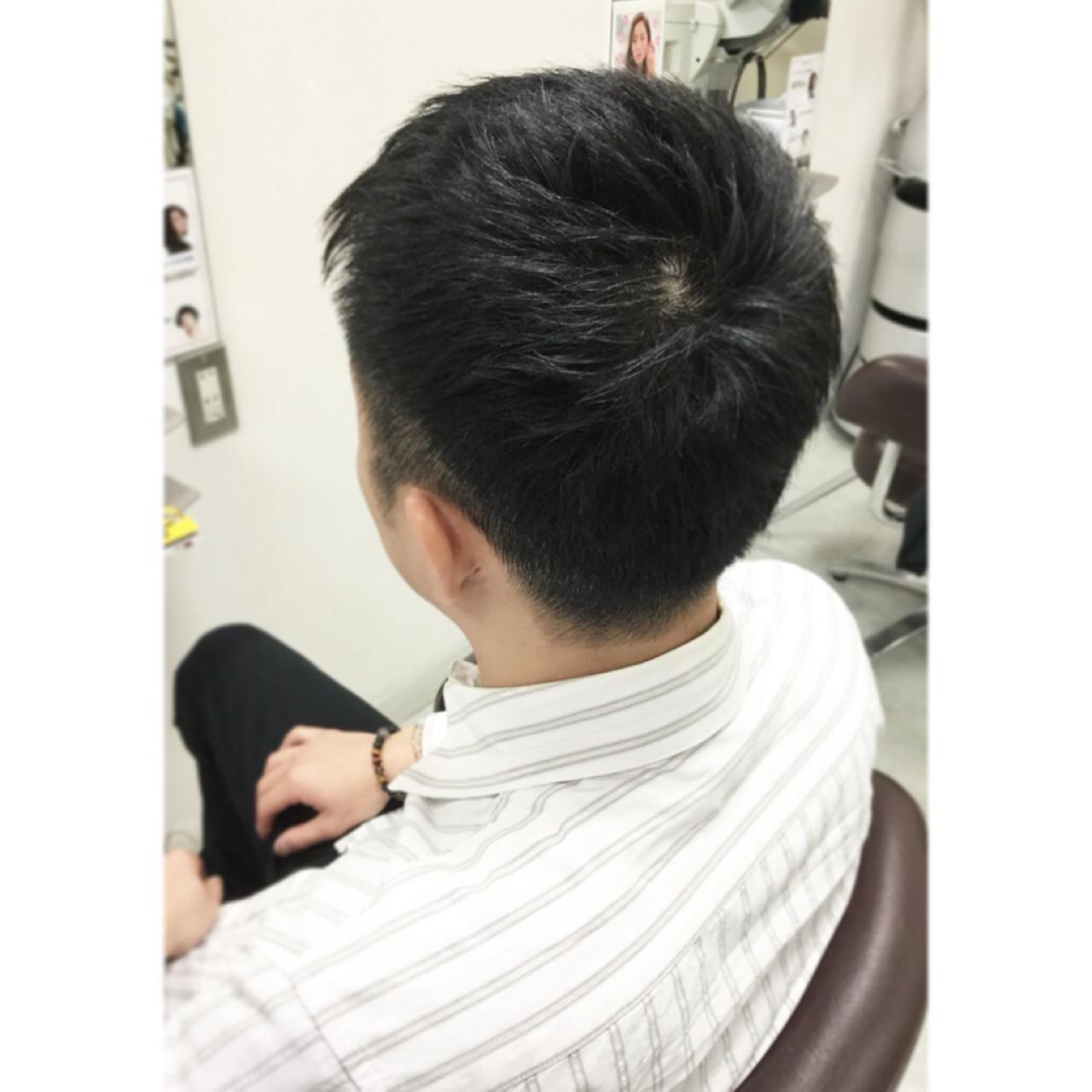ショート メンズ コンサバ ボーイッシュ ヘアスタイルや髪型の写真・画像