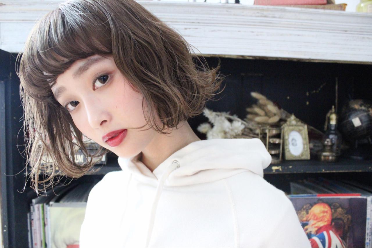 外ハネ こなれ感 外国人風 大人かわいい ヘアスタイルや髪型の写真・画像