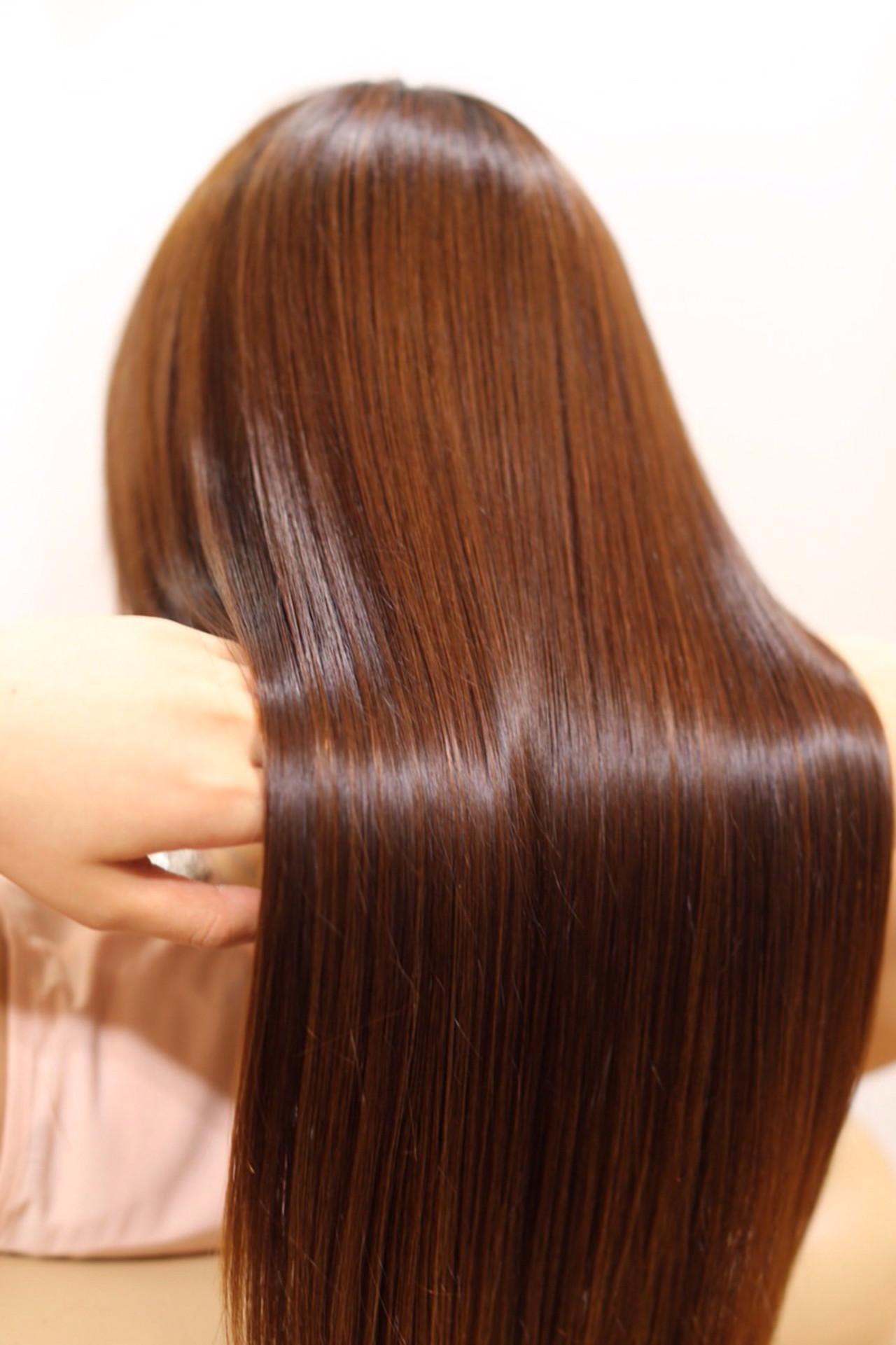 セミロング トリートメント ナチュラル モテ髪 ヘアスタイルや髪型の写真・画像