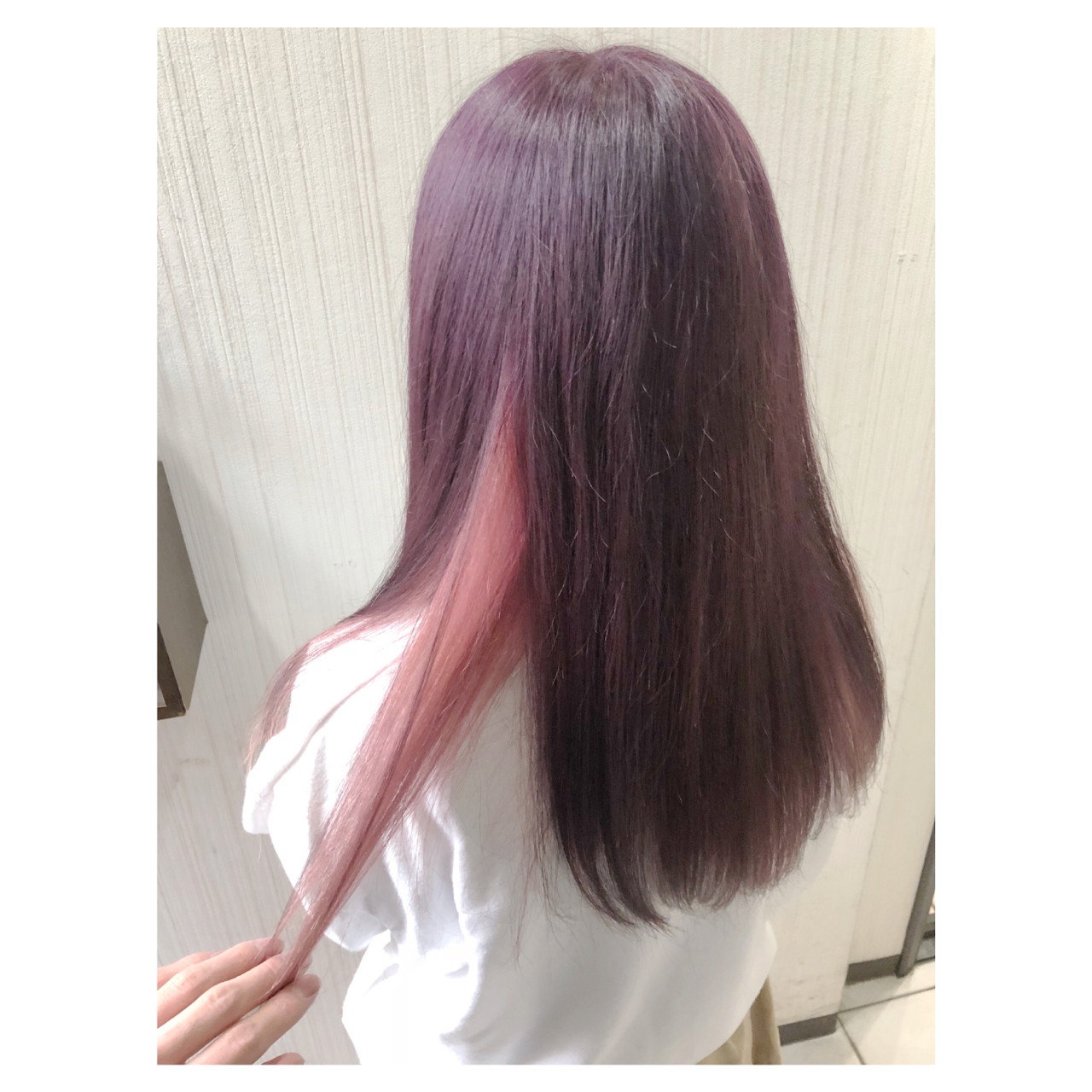 ピンクアッシュ ピンク フェミニン ラベンダーピンク ヘアスタイルや髪型の写真・画像   クラ / TOMCAT