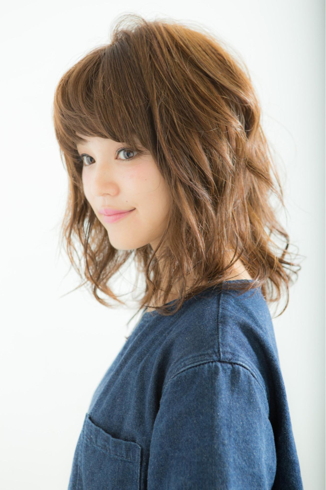 前髪あり パーマ 簡単ヘアアレンジ ショート ヘアスタイルや髪型の写真・画像 | 渡邉貴大 / Rodina【ロディーナ】