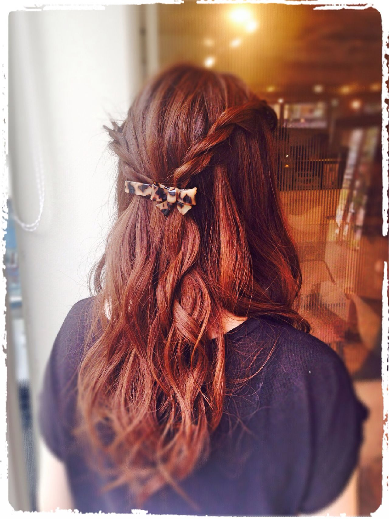 ヘアアレンジ ナチュラル ロング モテ髪 ヘアスタイルや髪型の写真・画像