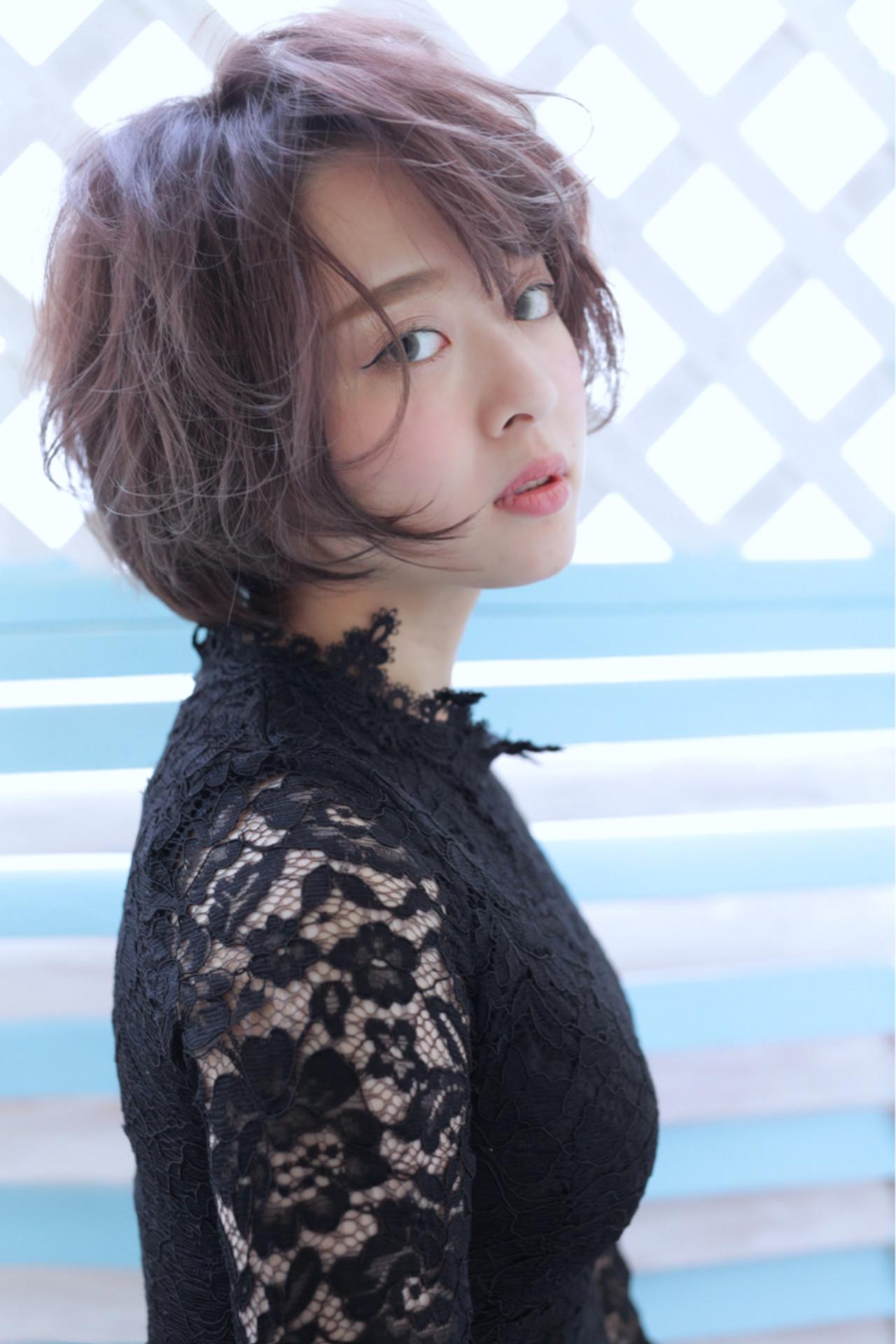 内巻き ナチュラル ワンカール パーマ ヘアスタイルや髪型の写真・画像   石田 学史 / DISHEL